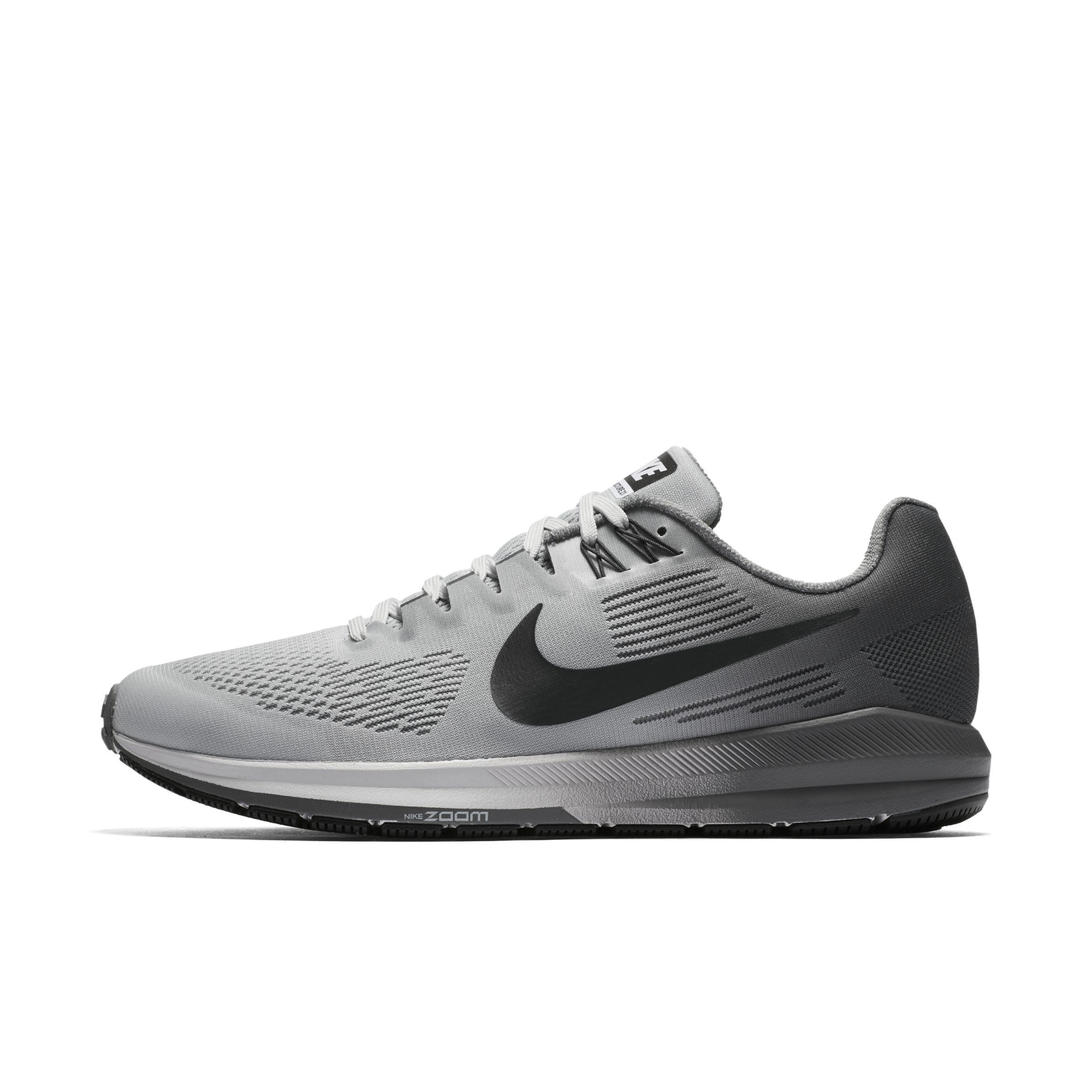 7ccb1d8ef45 Nike Air Zoom Structure 21 Running Shoes in Metallic for Men - Lyst