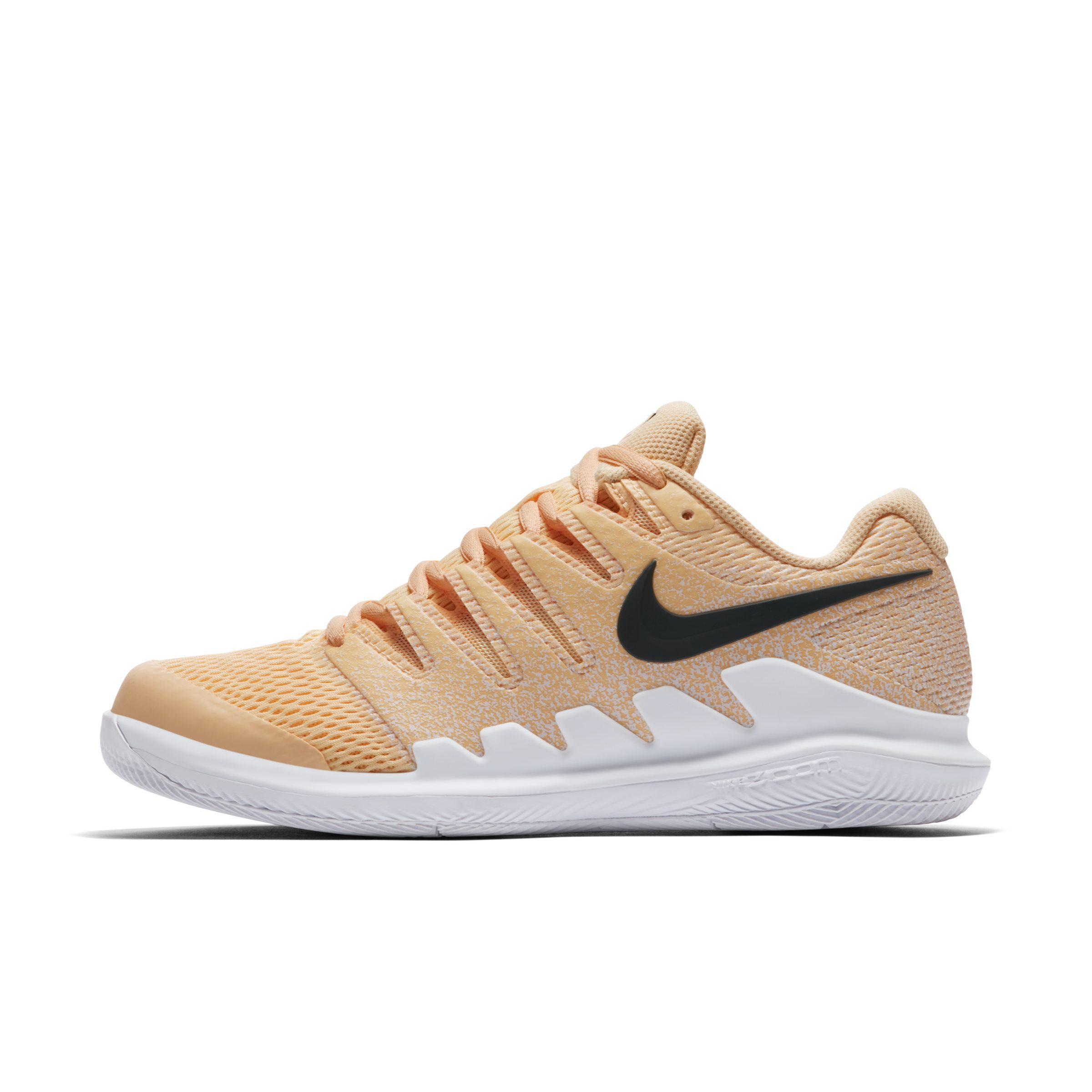 Nike Court Air Zoom Vapor X Hard Court Tennis Shoe in Orange - Lyst 196aa4046