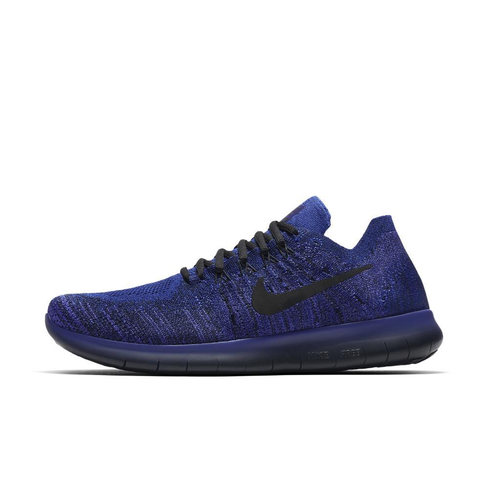 b38178fa8780c Lyst - Nike Free Rn Flyknit 2017 Men s Running Shoe in Blue for Men