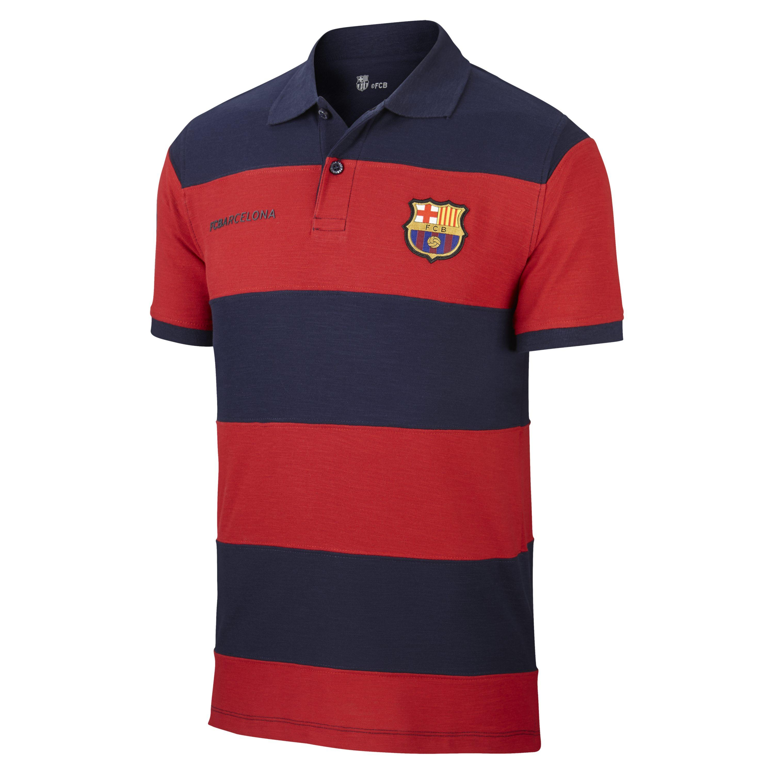 68c7d0b49a95b Nike Fc Barcelona Spirit Polo in Red for Men - Lyst