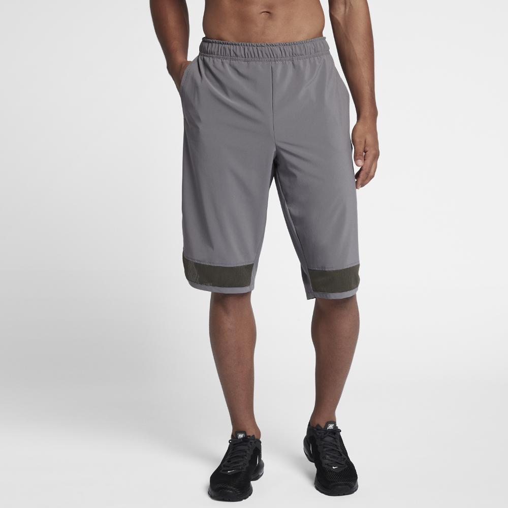 2e827592814 Lyst - Nike Flex Men s Training Shorts in Gray for Men
