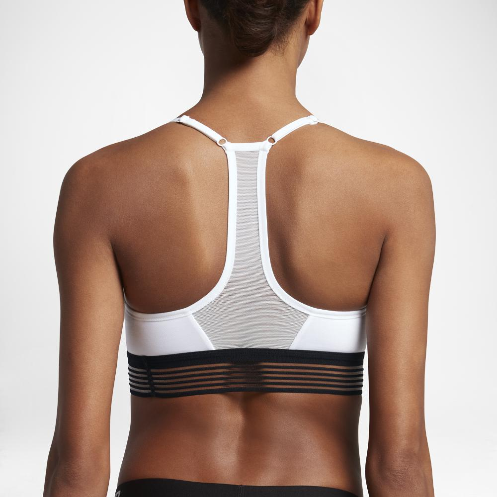 Nike. Black Indy Cooling Women's Light Support Sports Bra