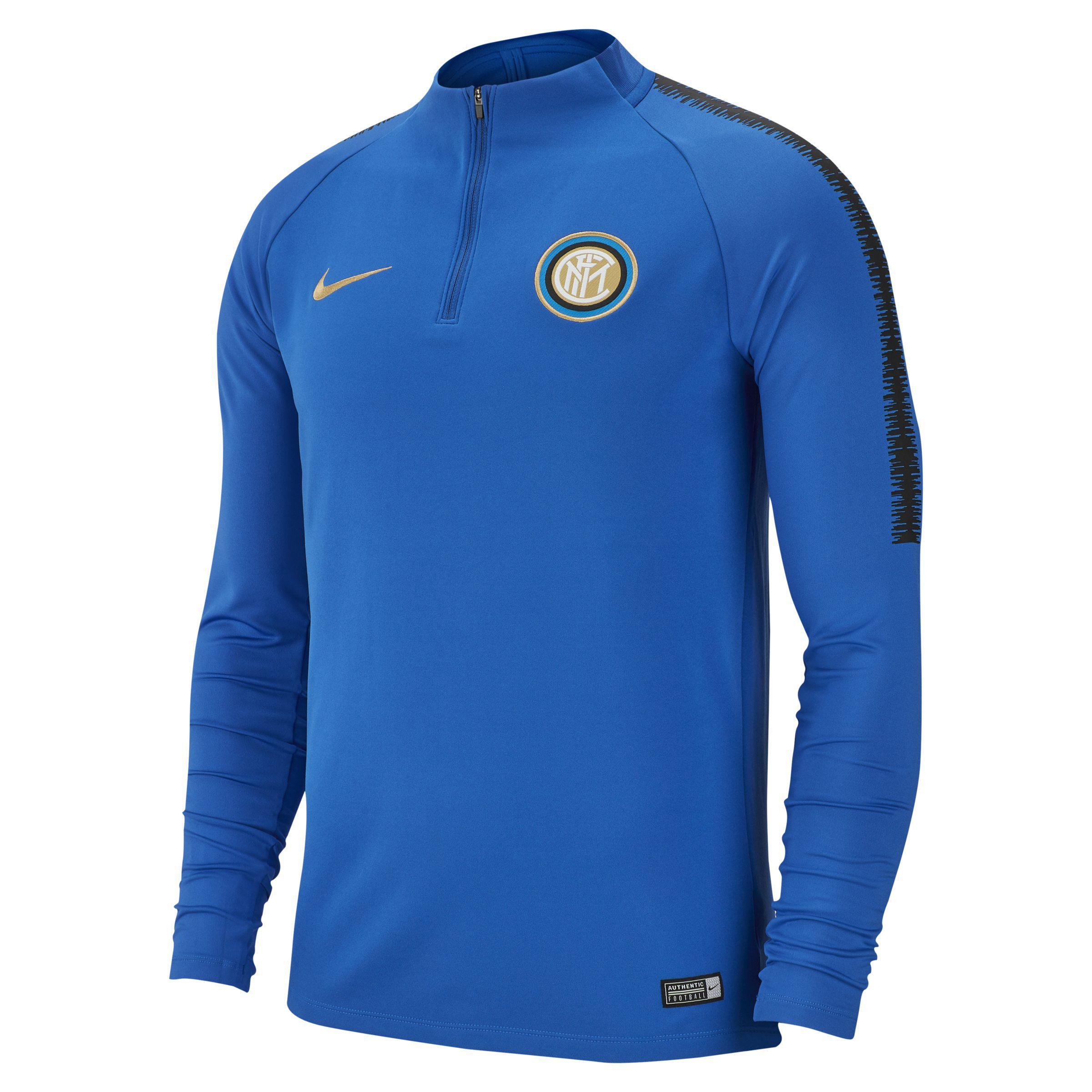 f6b183012 Nike Inter Milan Dri-fit Squad Drill Long-sleeve Football Top in ...