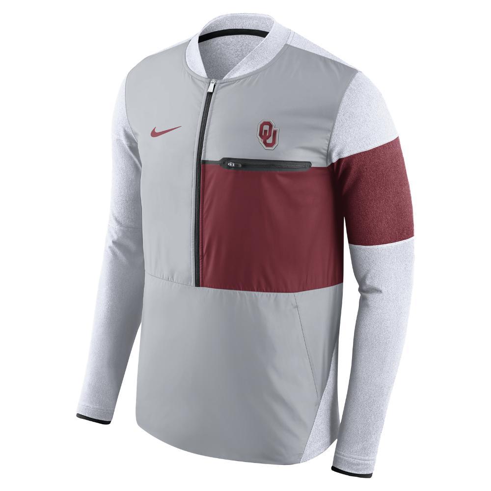Lyst - Nike College Shield Hybrid (oklahoma) Men s Half-zip Jacket ... 10b396aa2