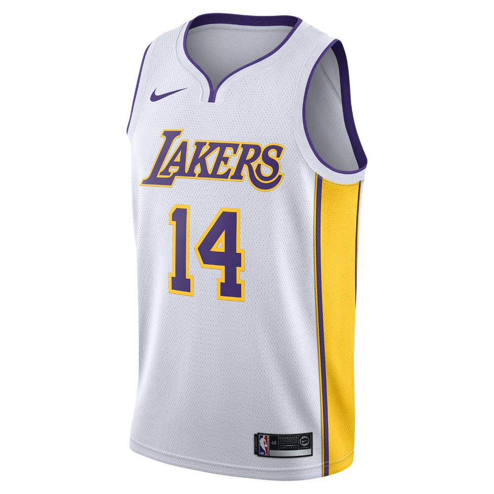 d1ae58315cbc Nike. White Brandon Ingram Association Edition Swingman Jersey (los Angeles  Lakers) Men s Nba Connected Jersey