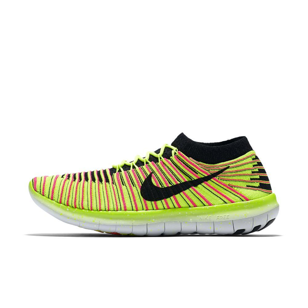 d43e56fc29d4f Lyst - Nike Free Rn Motion Flyknit Ultd Women s Running Shoe in Yellow