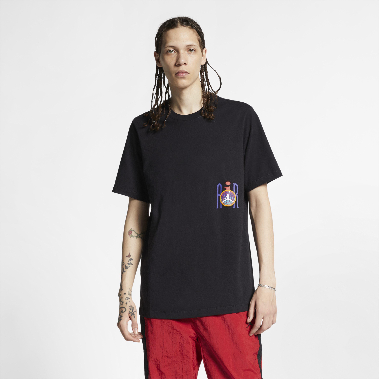 11ada7cf72e Nike Jordan Legacy Flight Nostalgia Aj 9 T-shirt in Black for Men - Lyst