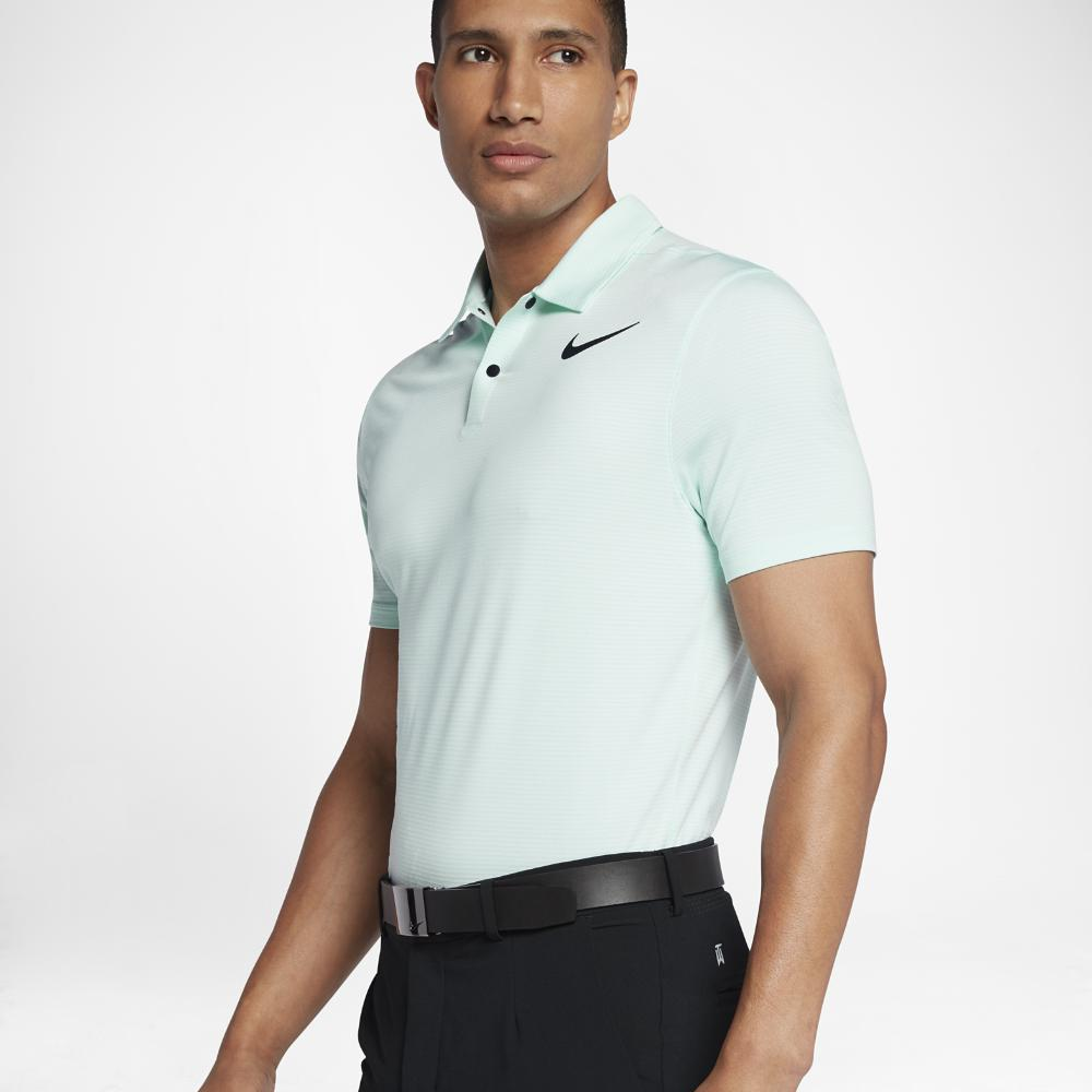 67ce3ffa Lyst - Nike Tw Dry Blur Stripe Men's Standard Fit Golf Polo Shirt in ...