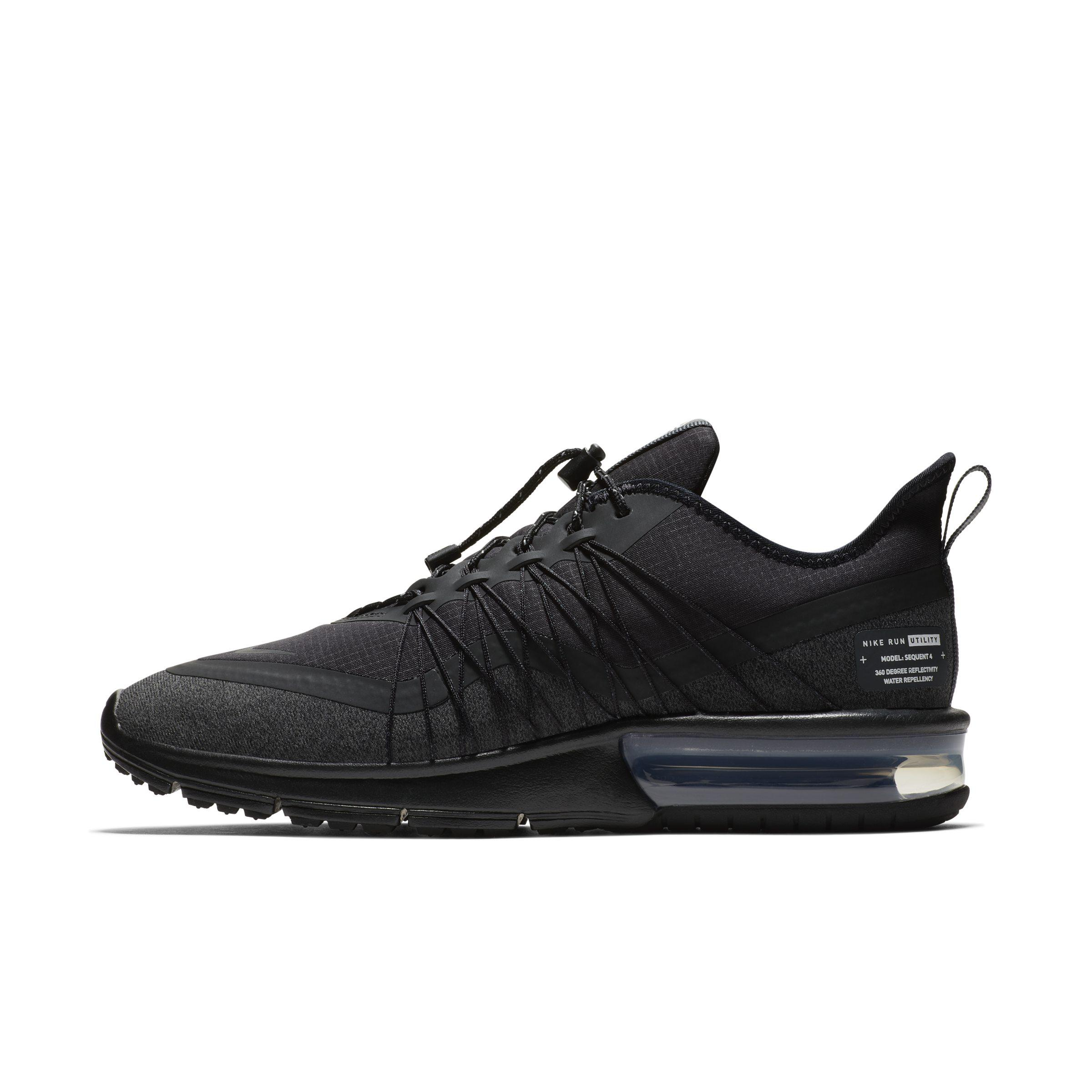 the best attitude f6dd2 21888 Nike Air Max Sequent 4 Utility Shoe in Black - Lyst
