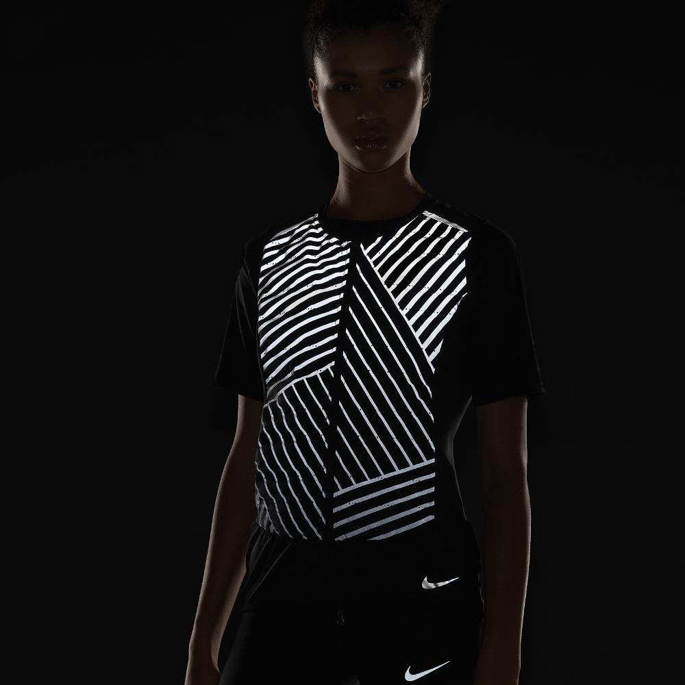61f4a58c6580 Lyst - Nike Aeroloft Flash Women s Running Vest in Black