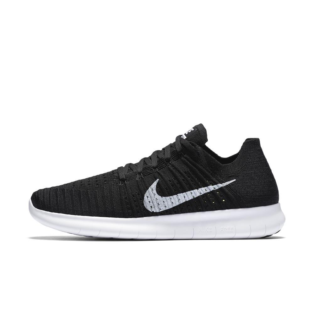 863a4150f68a Lyst - Nike Free Rn Flyknit Men s Running Shoe in Black for Men