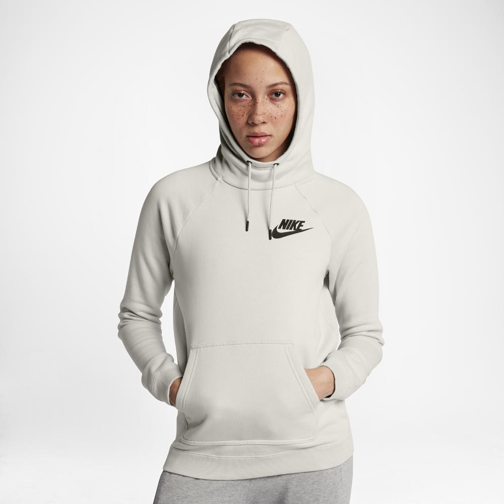 b6c766d9f6fc Nike - Multicolor Sportswear Rally Women s Fleece Hoodie - Lyst. View  fullscreen