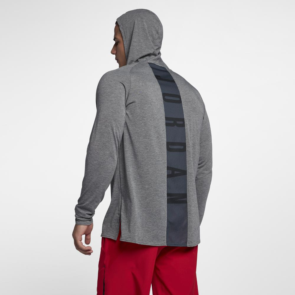 3b4669c13a72 Lyst - Nike Nike Dri-fit 23 Alpha Hooded Men s Long Sleeve ...