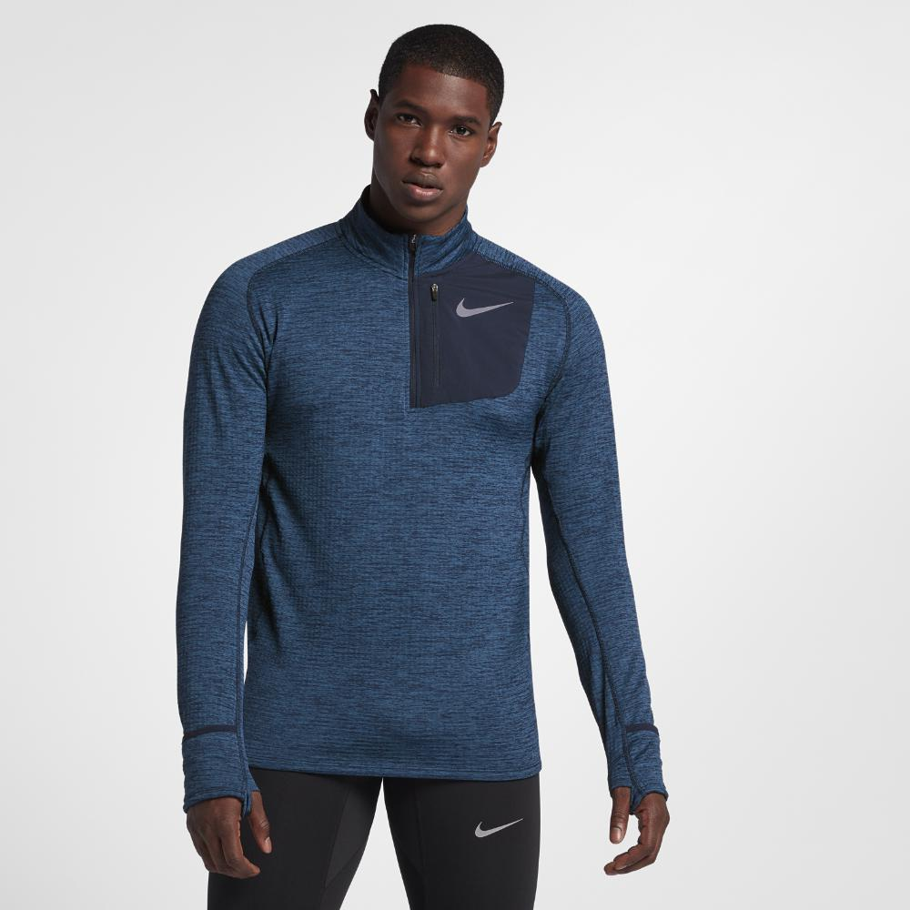 91416850 Nike Therma Sphere Element Men's Long Sleeve Half-zip Running Top in ...