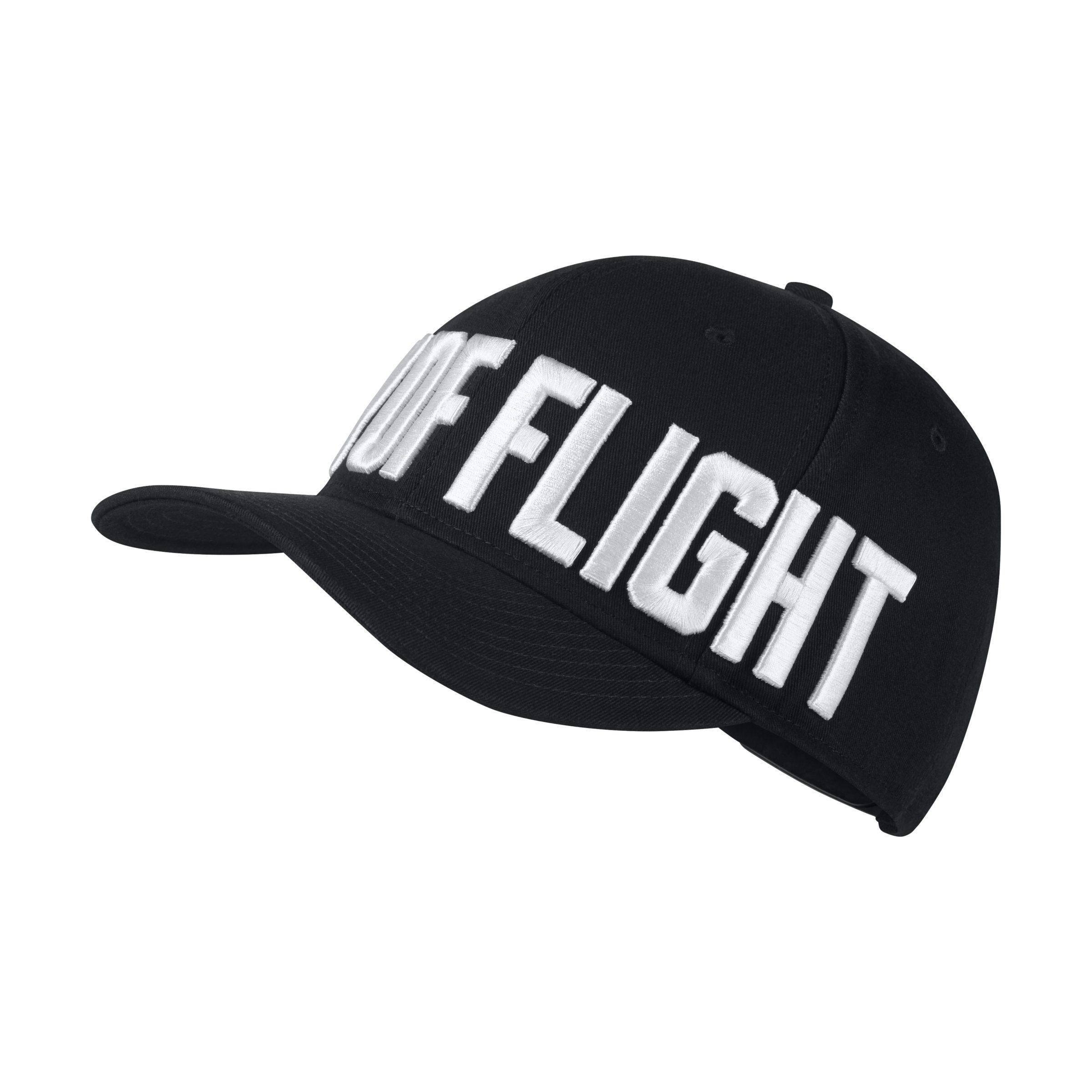 3ddc79d9 ... nike. mens black jordan jumpman classic 99 adjustable hat
