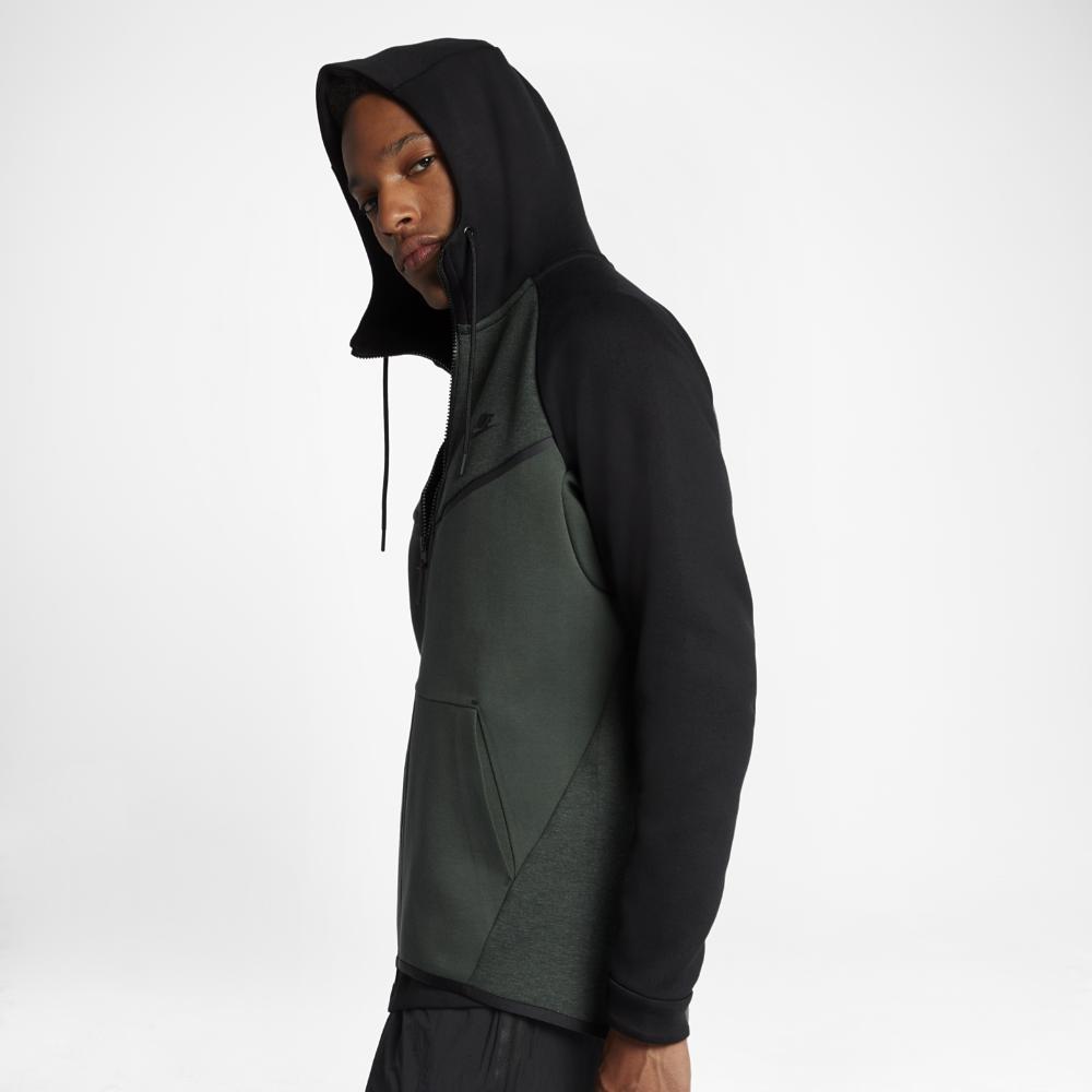 b7bd885aa6 Lyst - Nike Sportswear Tech Fleece Windrunner Men s Hoodie in Black ...