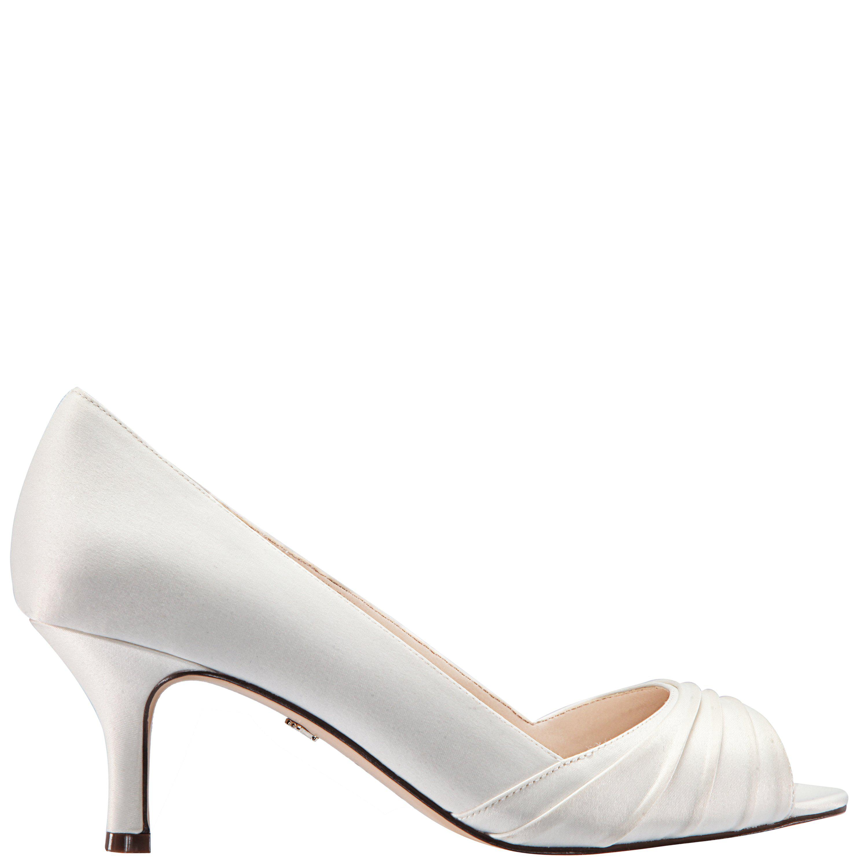 b103b01c5704 Lyst - Nina Chezare-ivory Satin in White