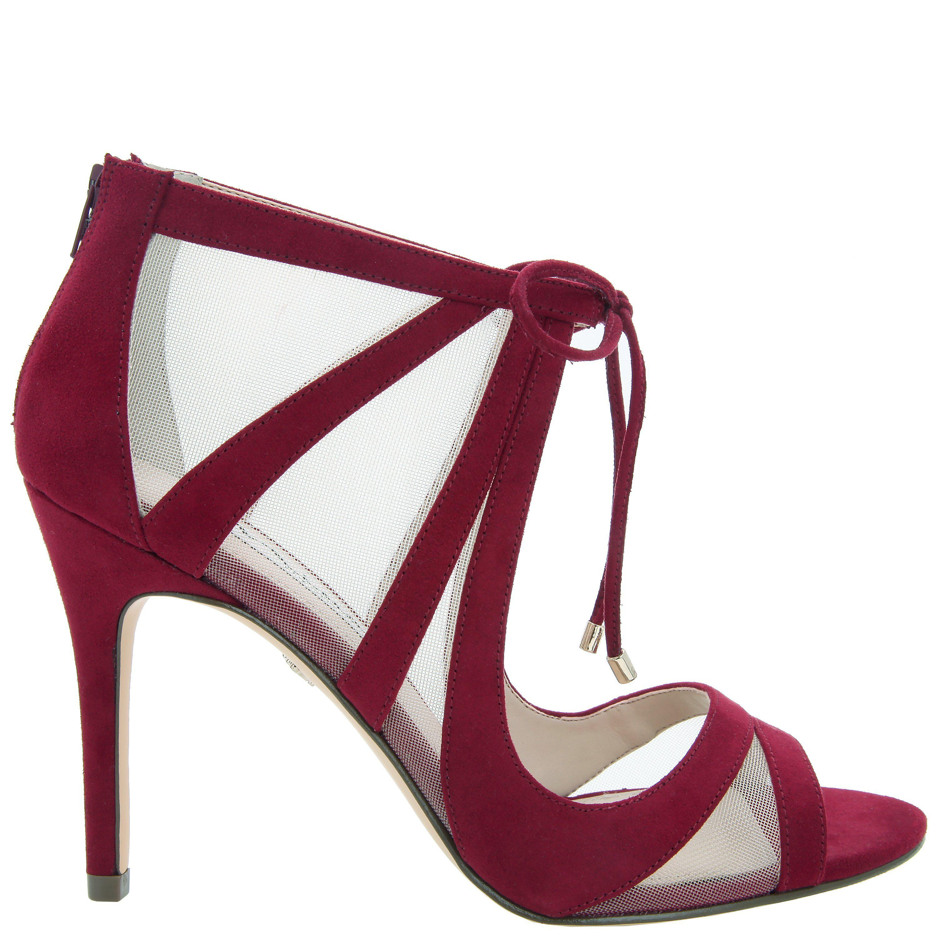 Lyst - Nina Cherie-cranberry Satin in Red - Save 63%
