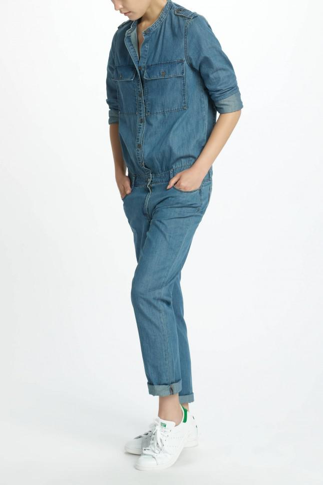 22b4899a70d67 Gallery. Previously sold at: NINE IN THE MIRROR · Women's Denim Jumpsuits