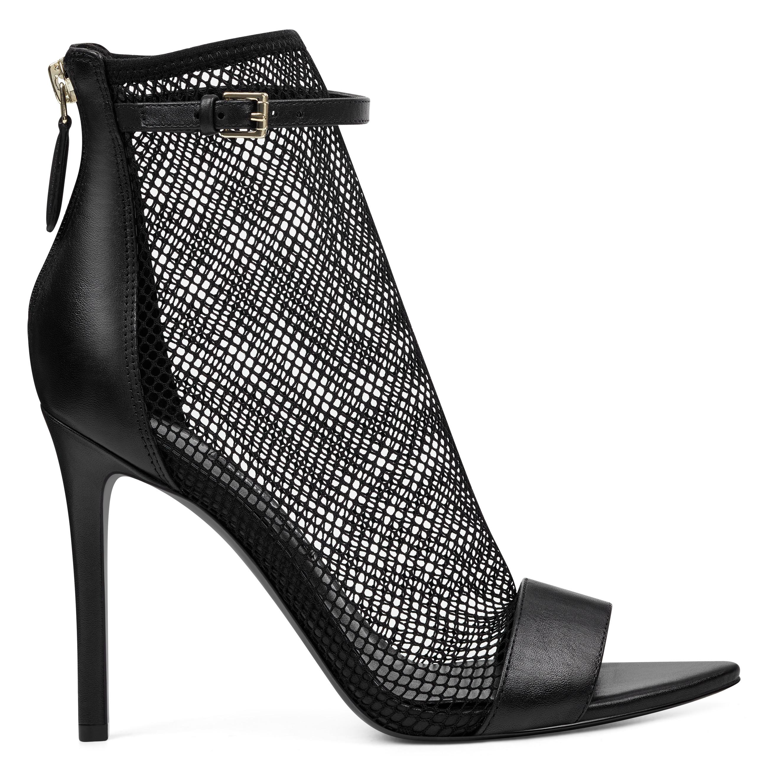 e84666234a463b Lyst - Nine West Gotbank Mesh Dress Sandals in Black - Save 64%