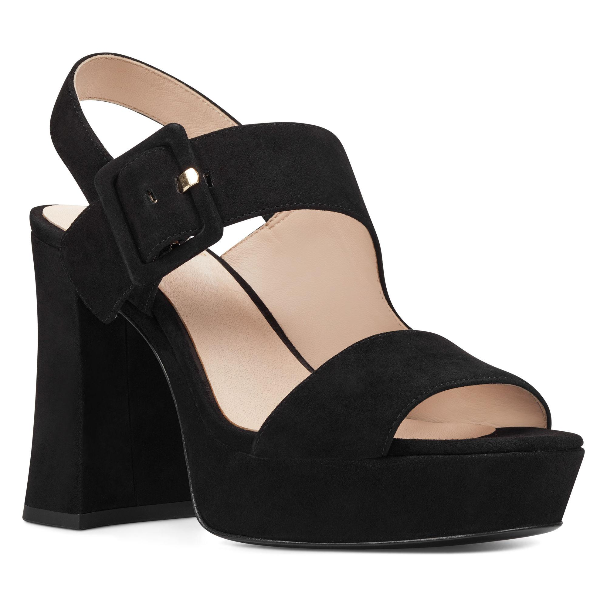 ecfc04bf88c Lyst - Nine West Lexine Platform Sandals in Black