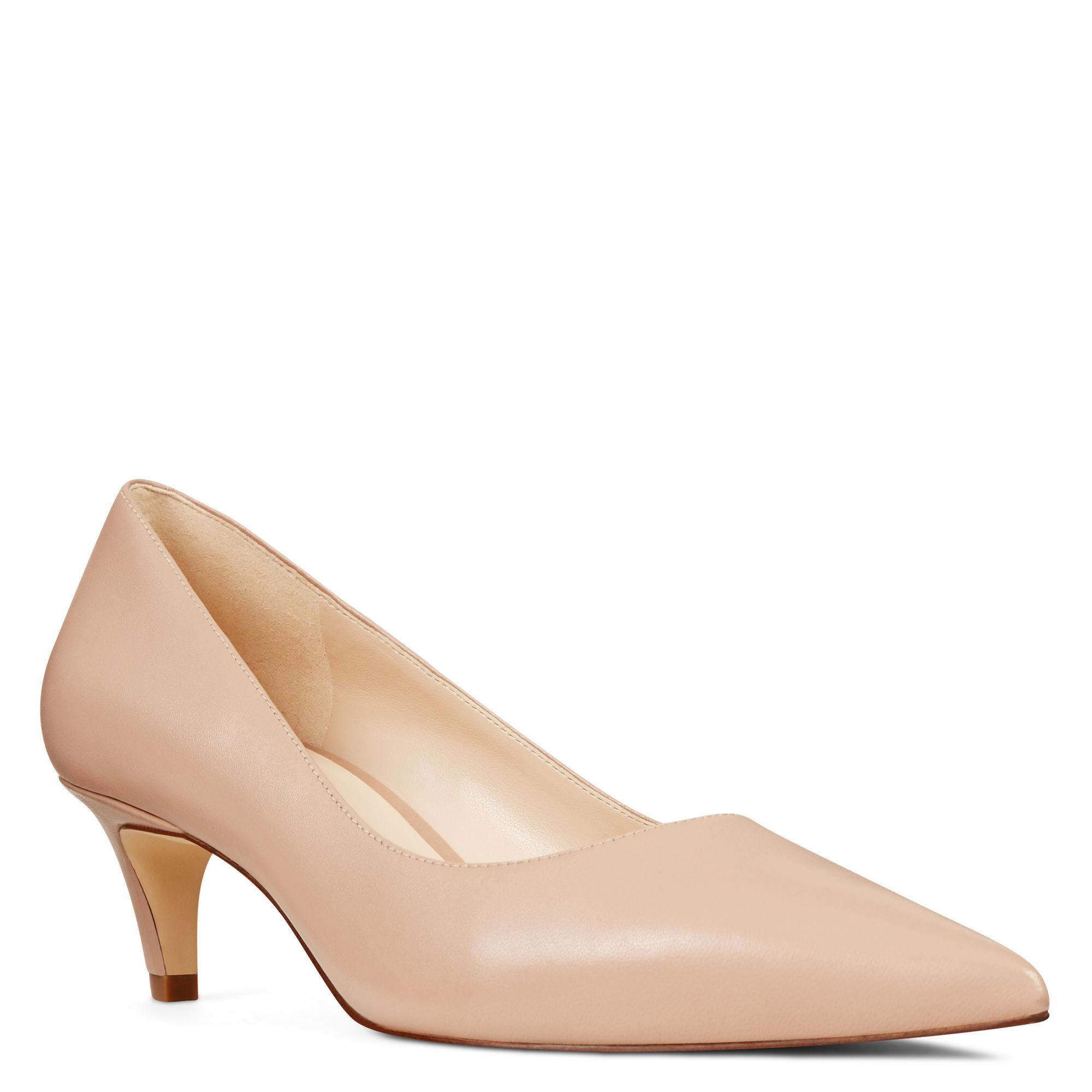 eb56edf8a4 Nine West Quan Pointy Toe Pumps in Natural - Lyst