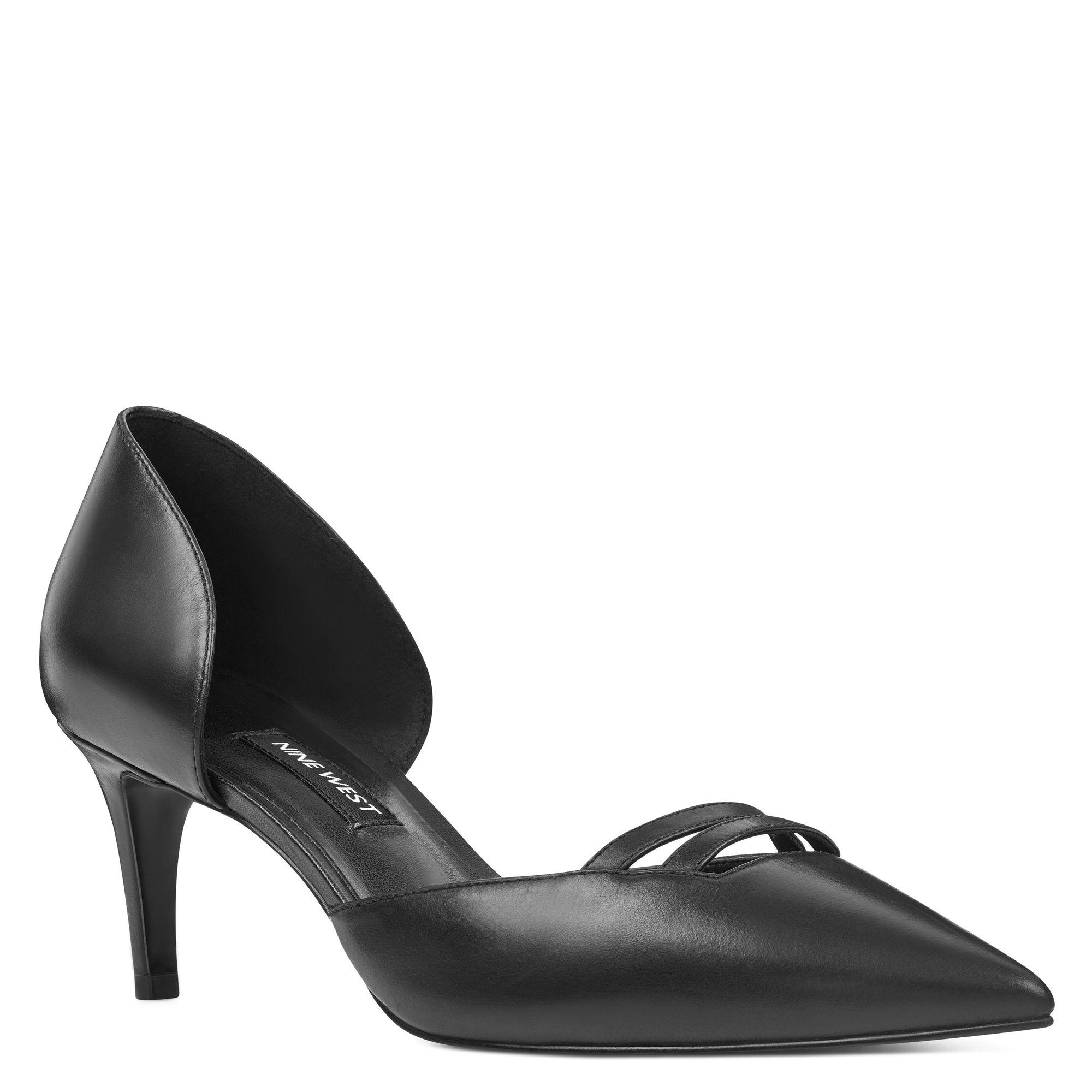 05a05485cfd Lyst - Nine West Suitup D orsay Pumps in Black
