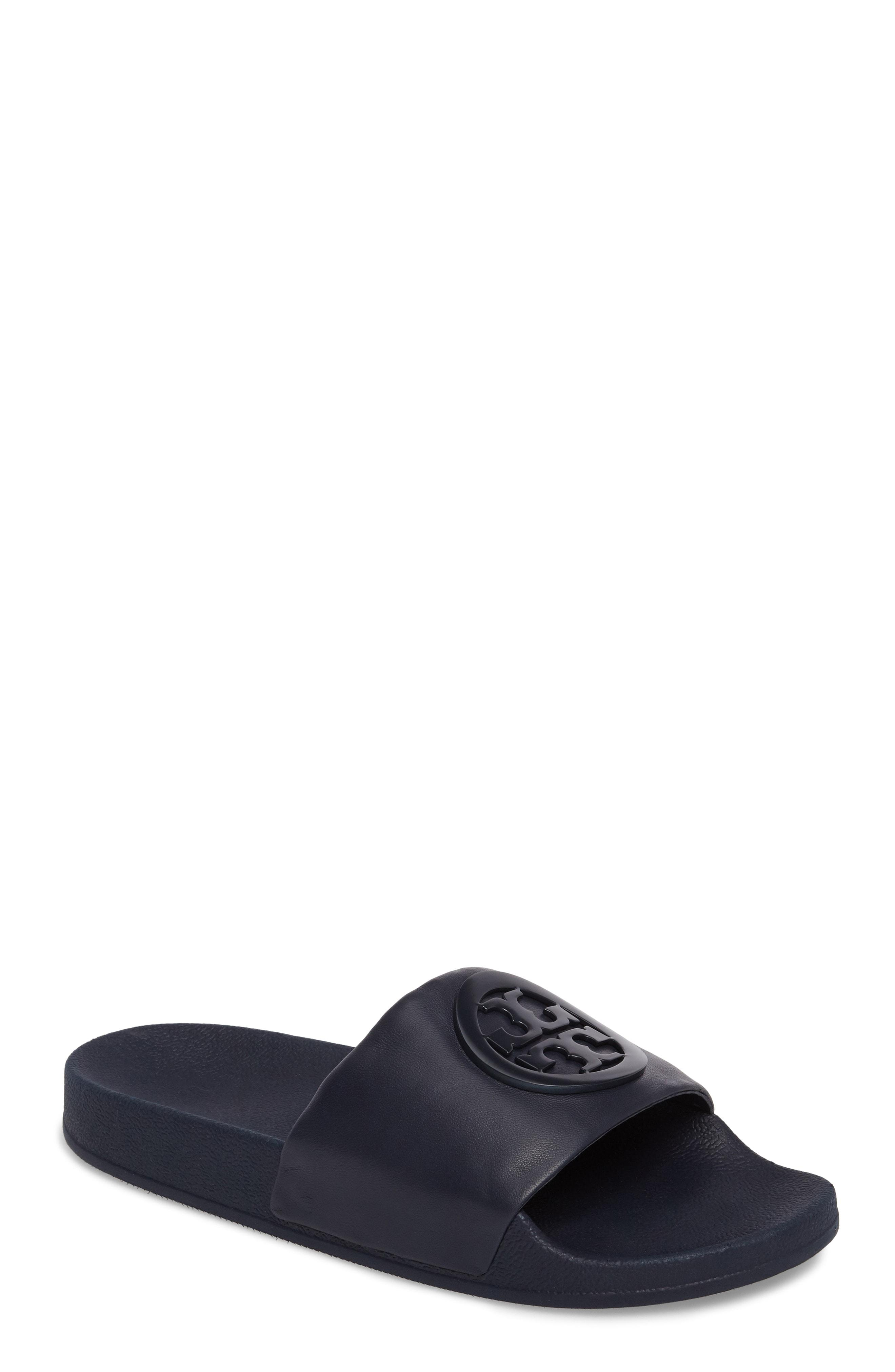 a0bc05e15 Lyst - Tory Burch Lina Slide Sandal in Blue