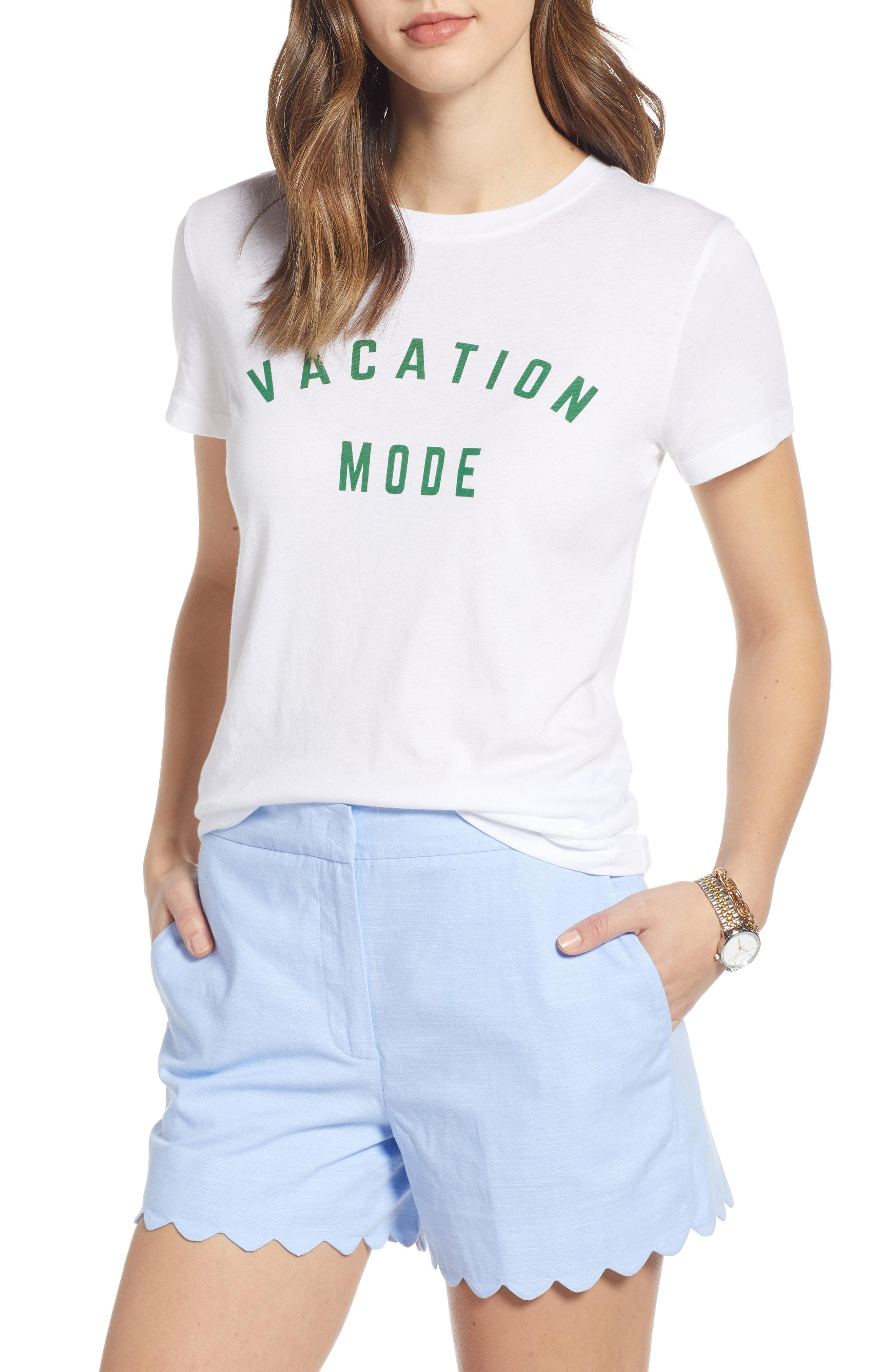 cabf120328 Lyst - Nordstrom 1901 Graphic Tee in White