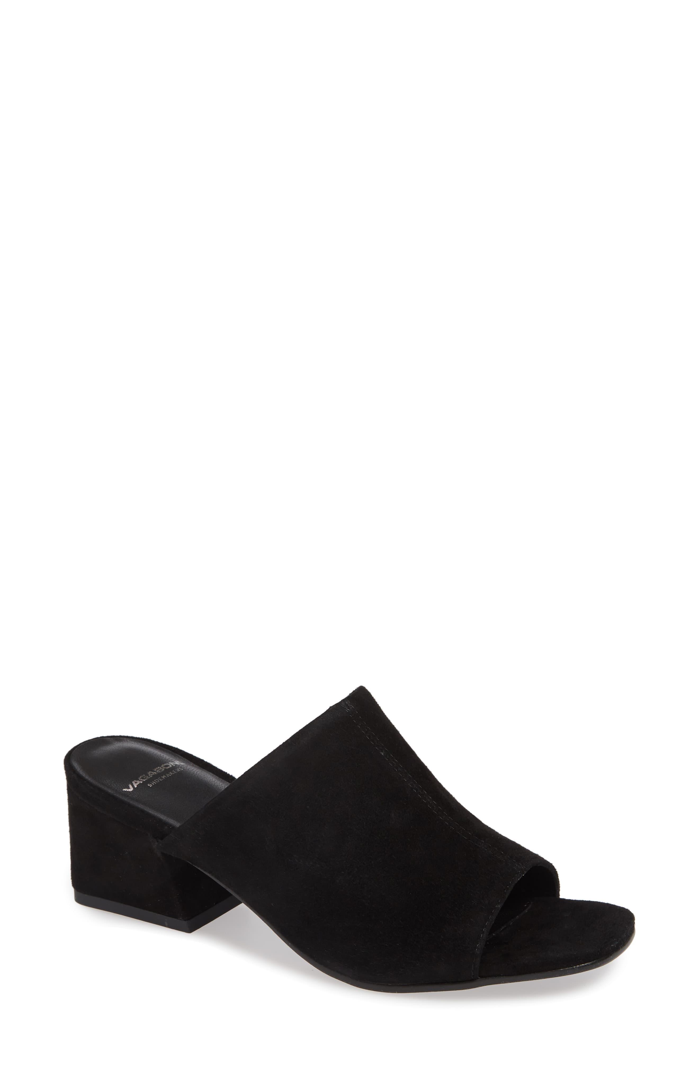 2c05597cbf Vagabond Shoemakers Elena Slide Sandal in Black - Lyst