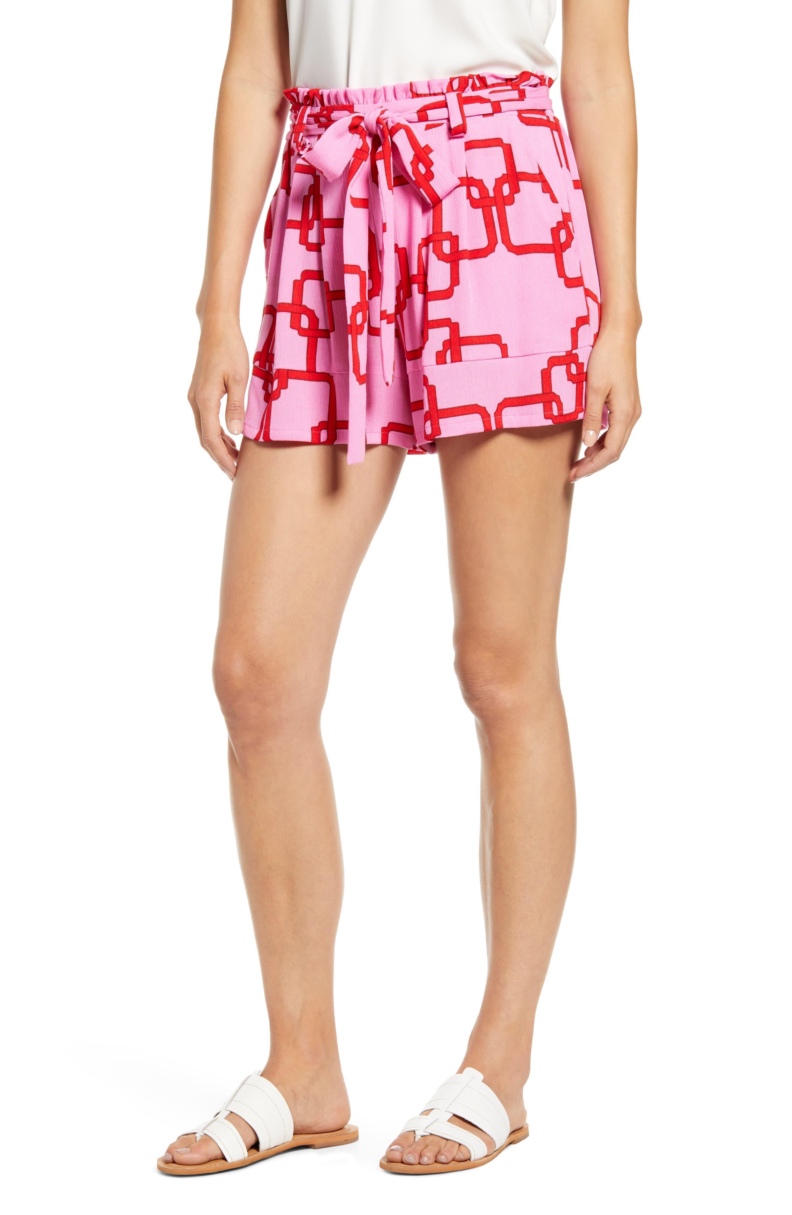 3fa92776 Gibson X Hi Sugarplum! Menorca Essential Paperbag Shorts in Pink - Lyst