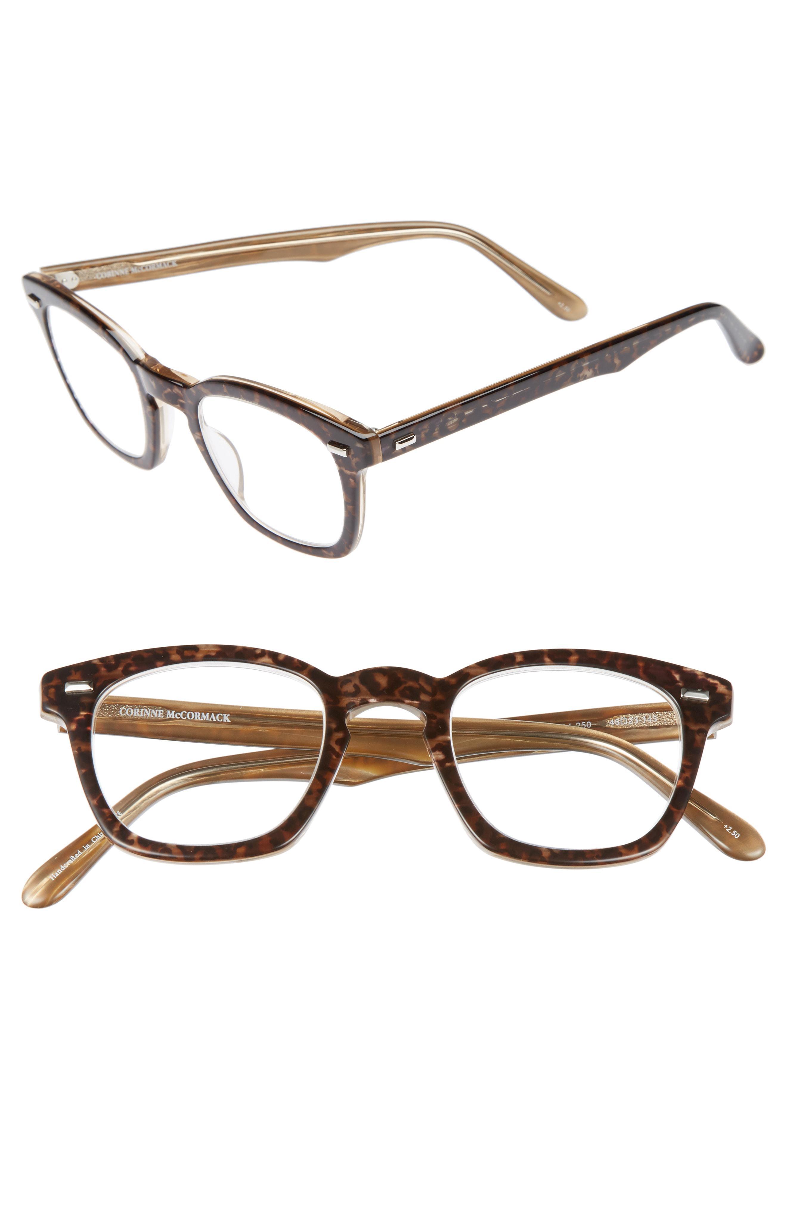 e36d36687e9 Corinne Mccormack - Multicolor  annie  46mm Reading Glasses - - Lyst. View  fullscreen
