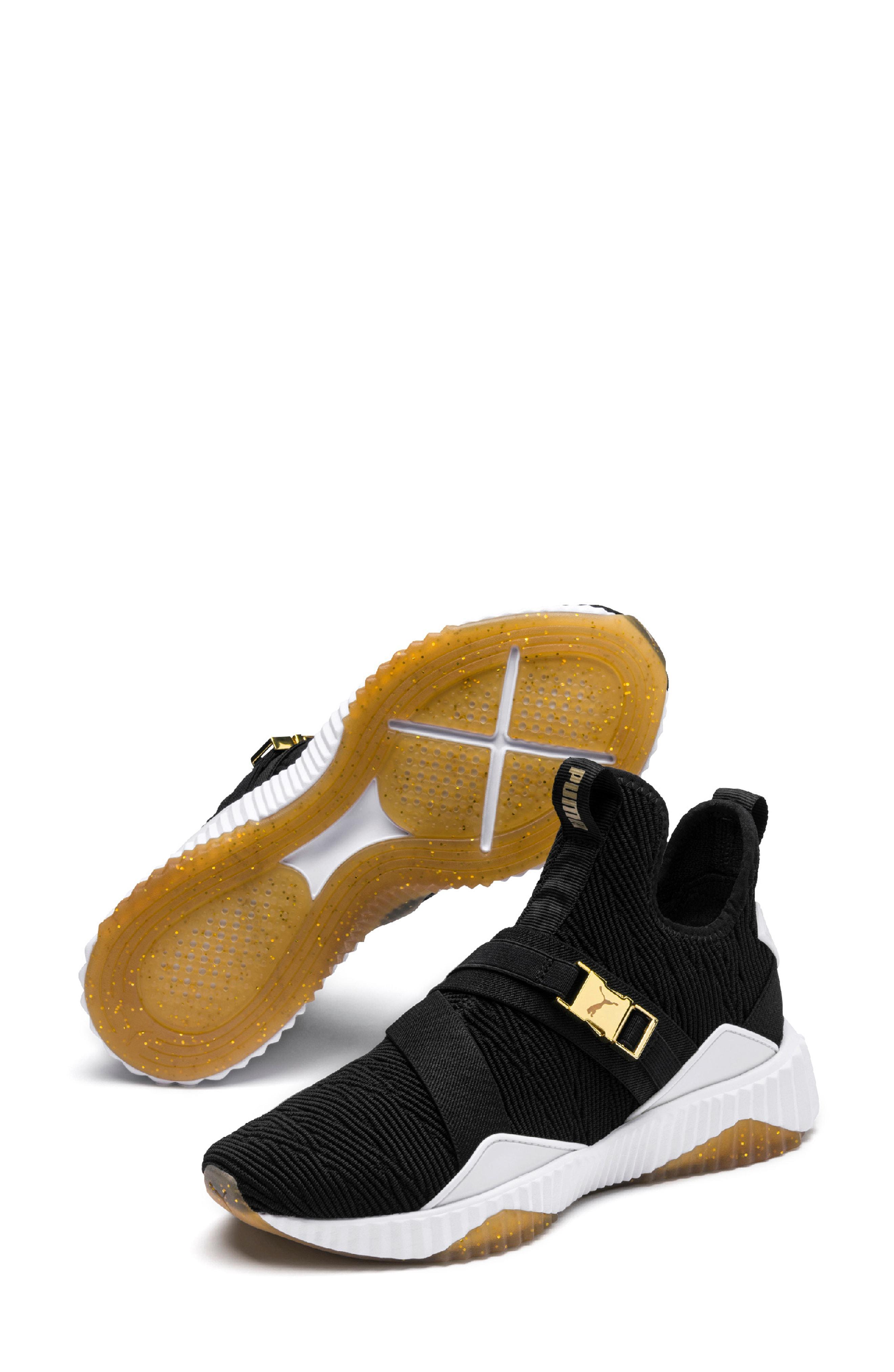 d8e915691c8 Lyst - Puma Defy Mid Varsity Sneaker in White
