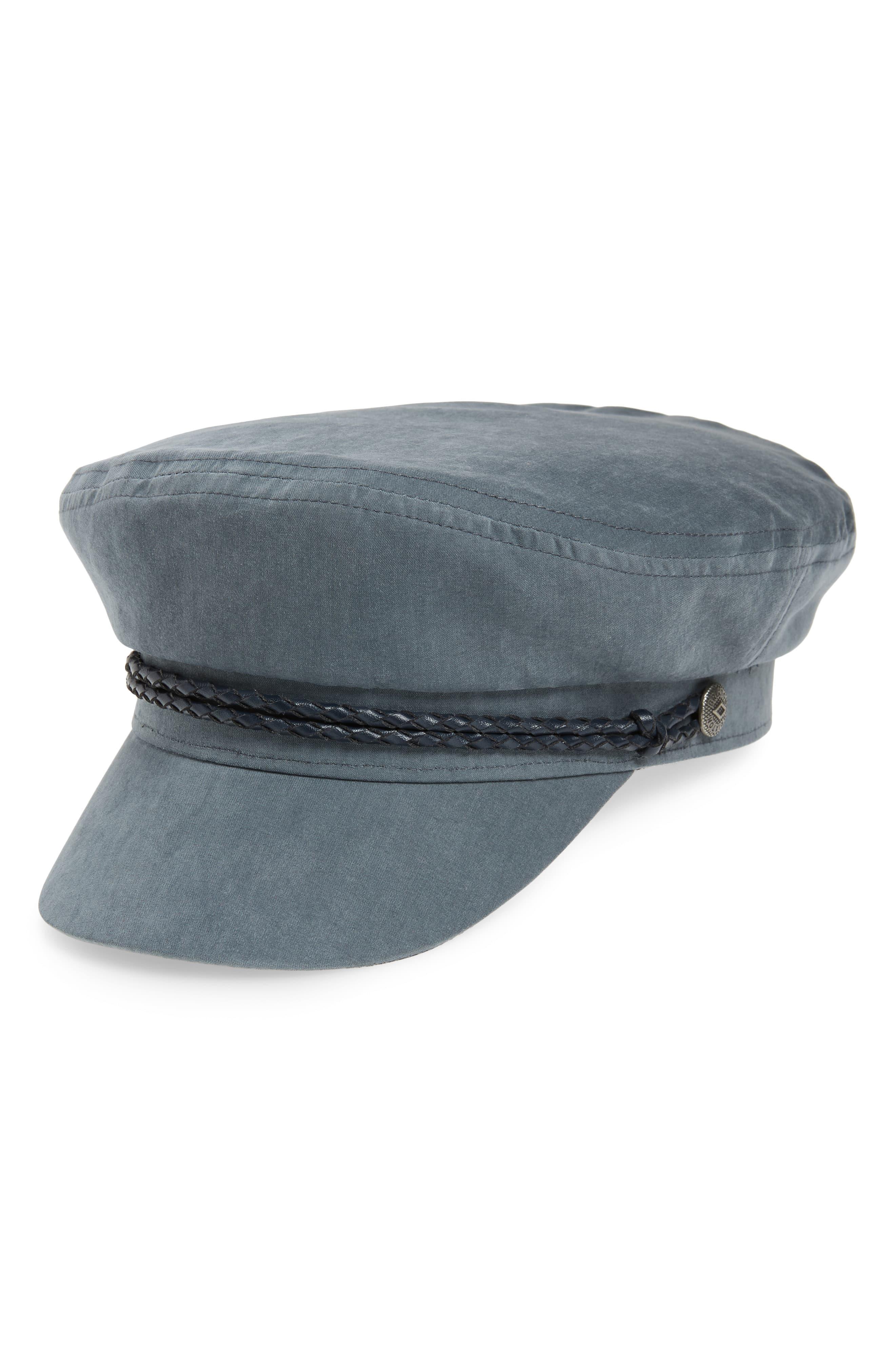 97c9edc4a Brixton Ashland Baker Boy Cap in Blue - Lyst