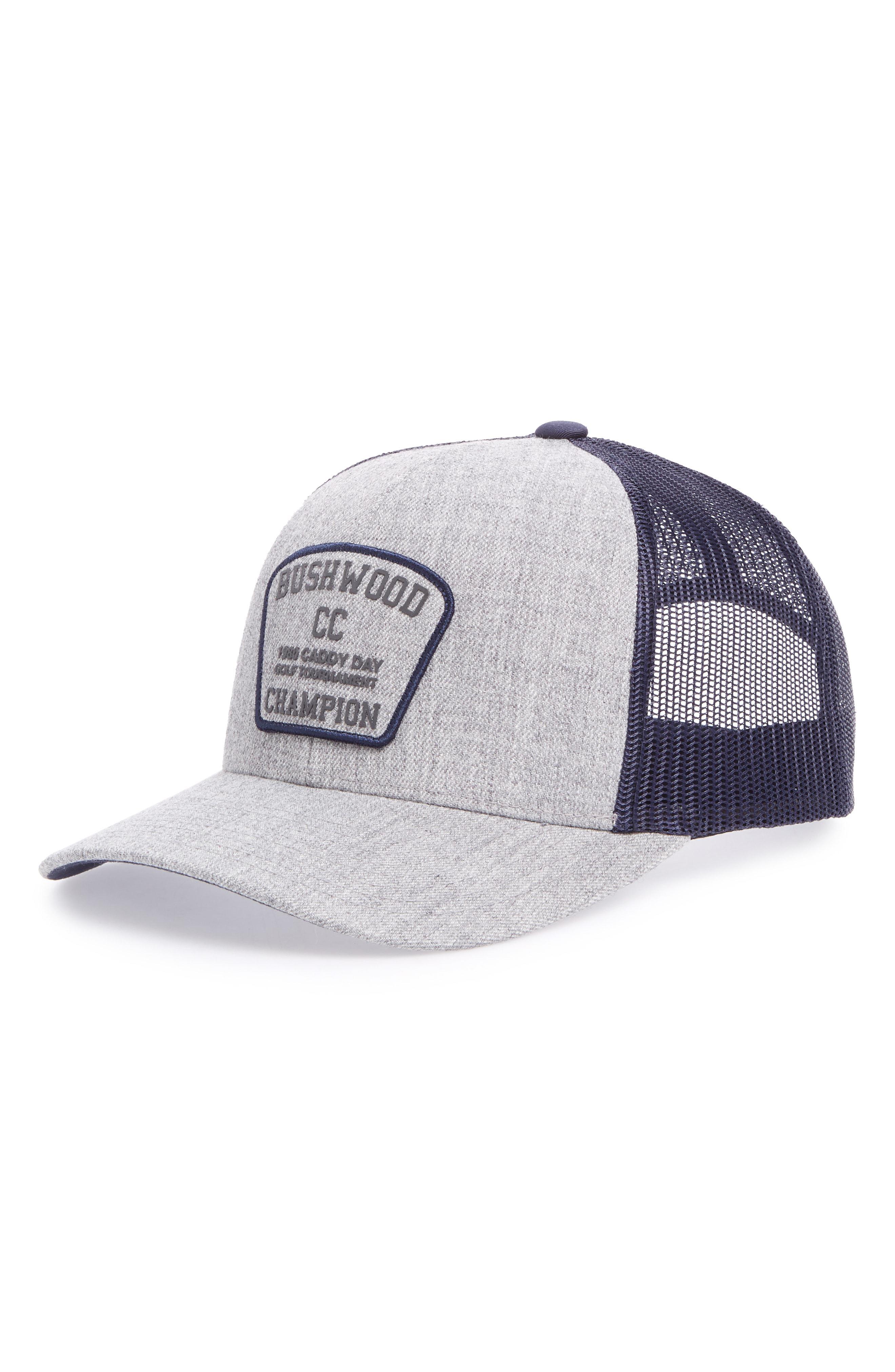 Lyst - Travis Mathew Cinderella Story Trucker Hat in Gray for Men b9a6adf93c64