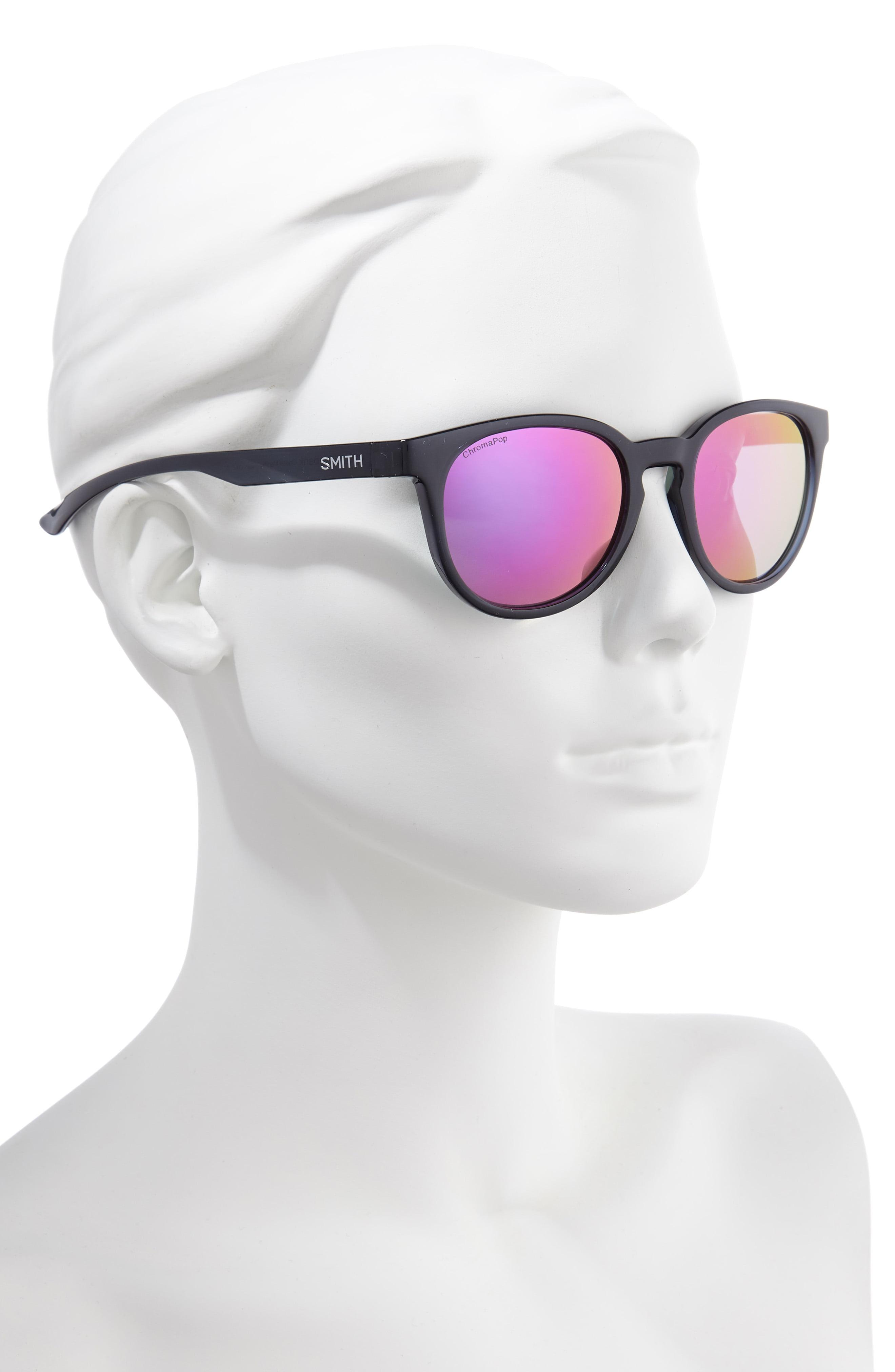 d7a722e880866 Lyst - Smith Eastbank 52mm Chromapoptm Polarized Mirrored Sunglasses -