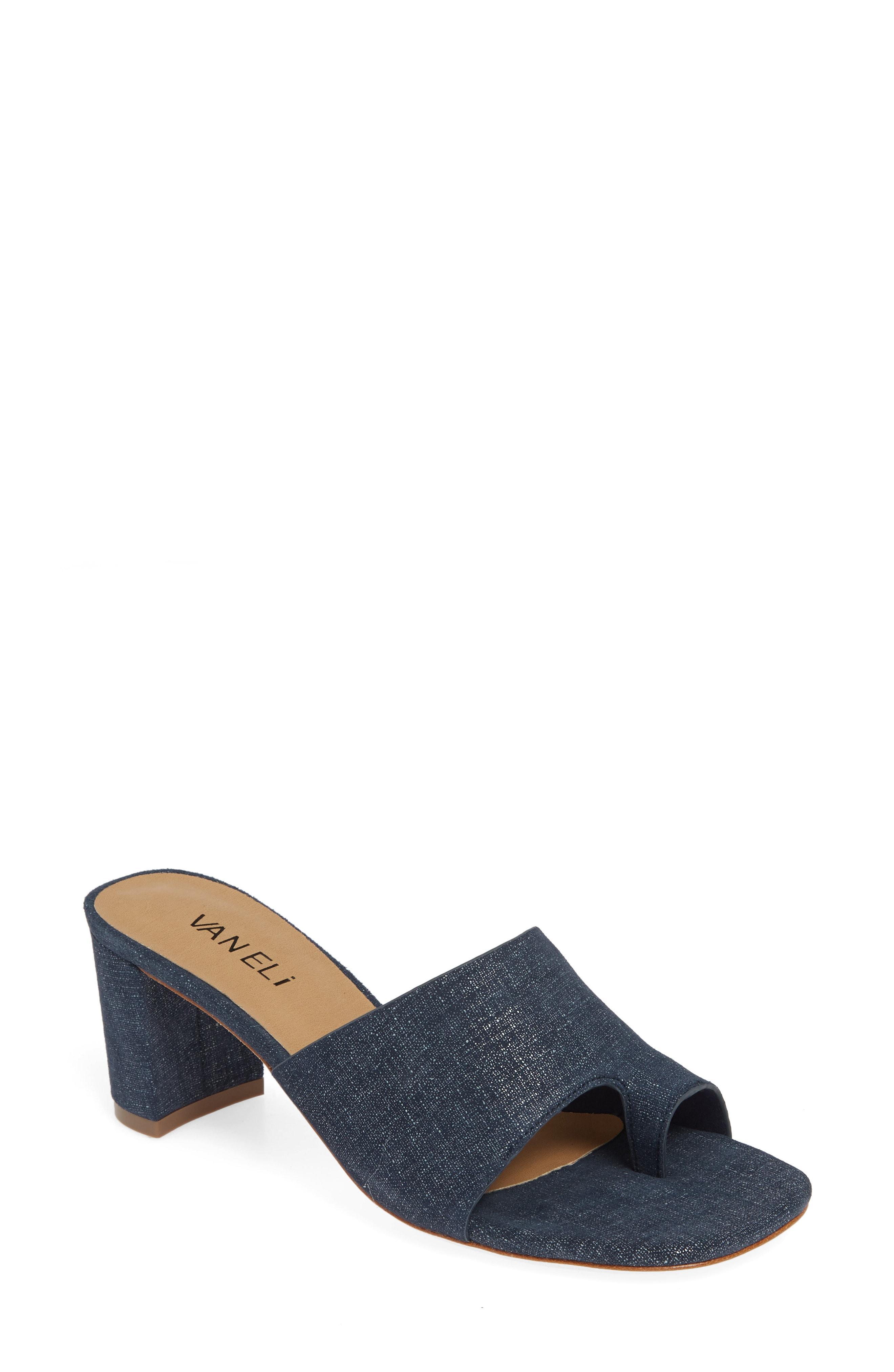 6cd61036e1f Vaneli - Blue Maysa Slide Sandal - Lyst. View fullscreen