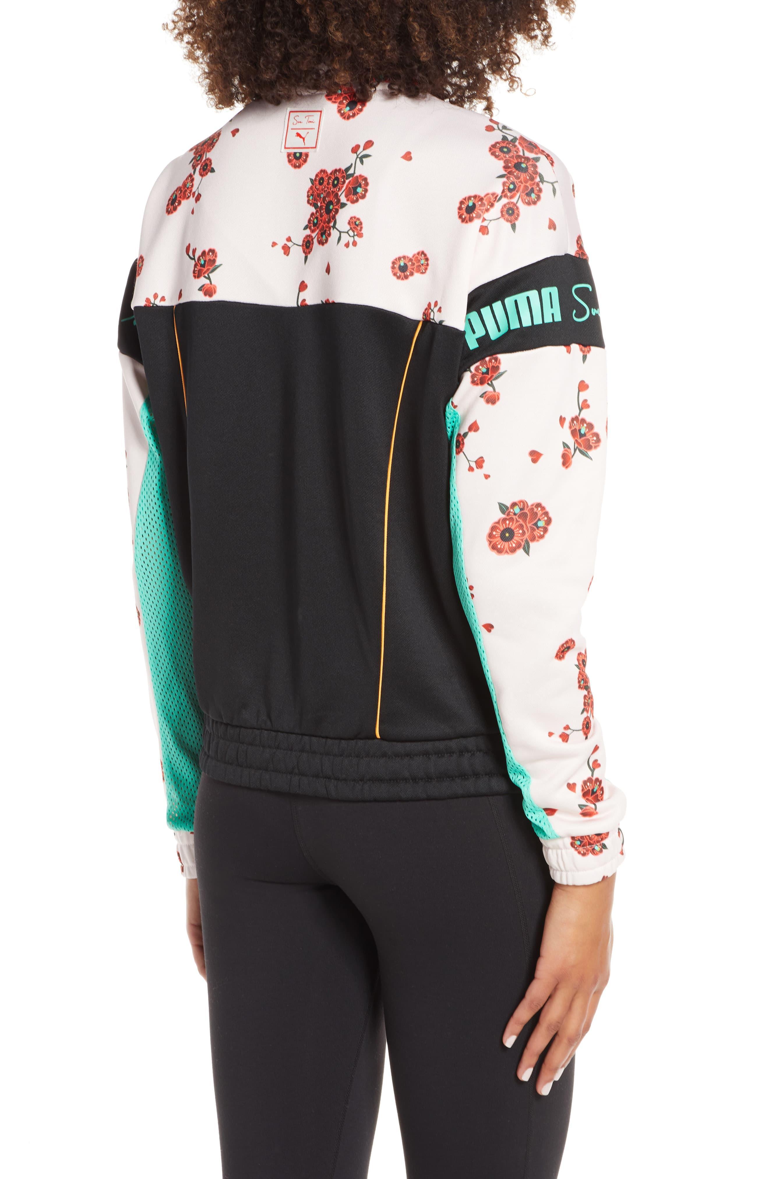 d6ecb580d ... PUMA - Green X Sue Tsai Xtg Floral Track Jacket - Lyst. Visit  Nordstrom. Tap to visit site