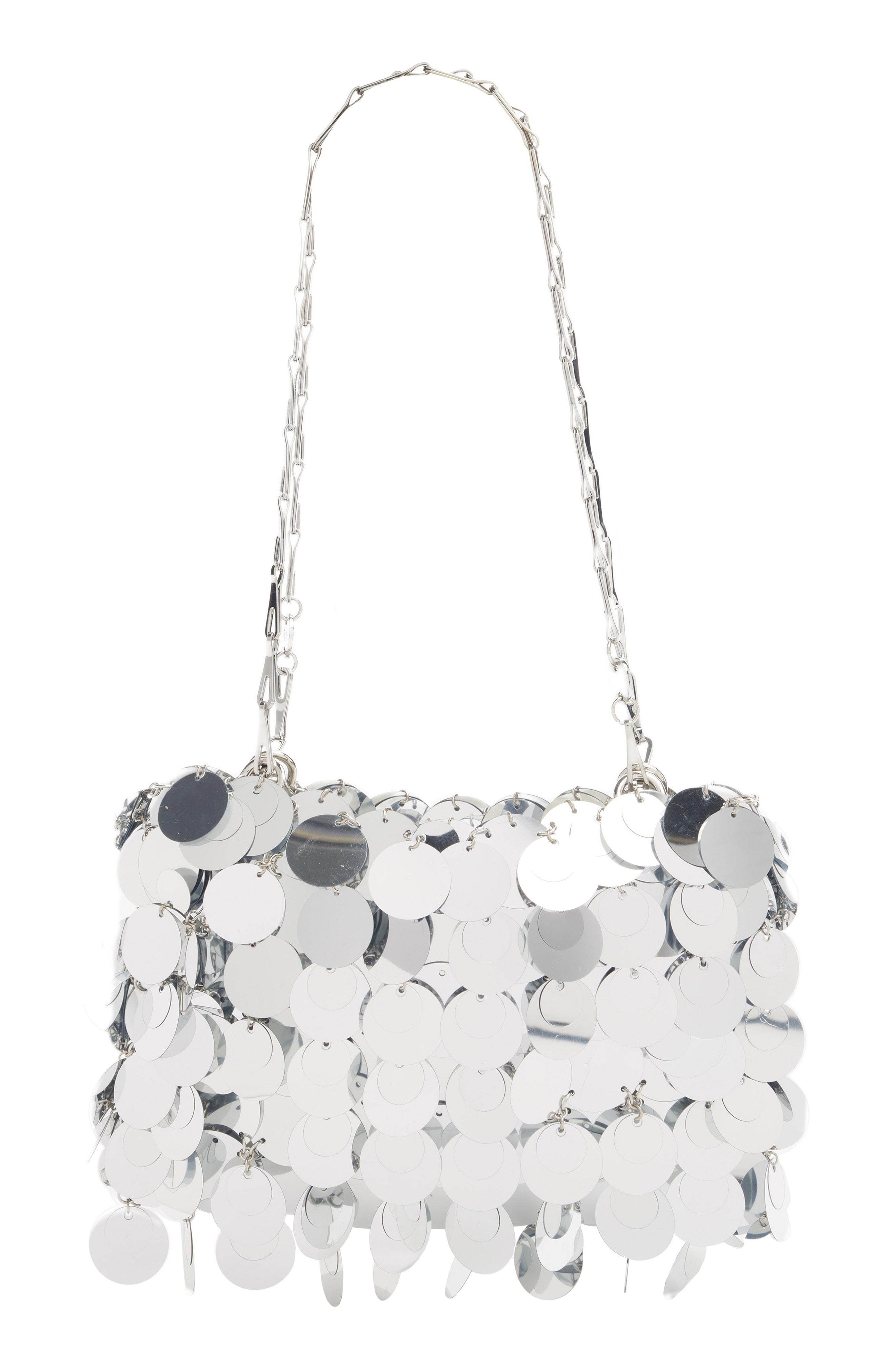00953763df00 Lyst - Paco Rabanne Sparkle 1969 Iconic Shoulder Bag - Metallic in ...