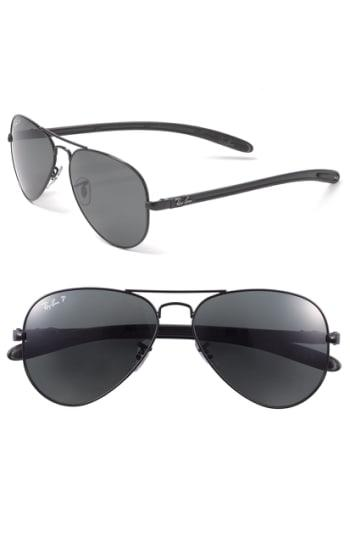 17df8df510 ... spain lyst ray ban tech polarized carbon fiber aviator sunglasses in  9a3bb ea1af
