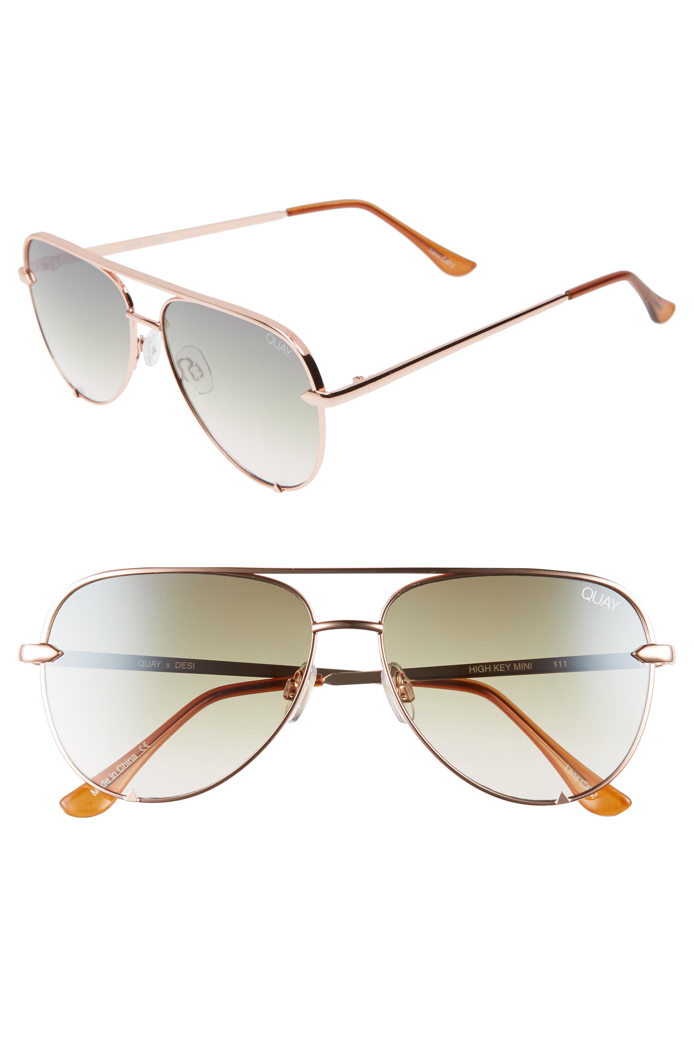 811167109c8 Desi Perkins High Key Mini 57mm Aviator Sunglasses - Lyst. View fullscreen .