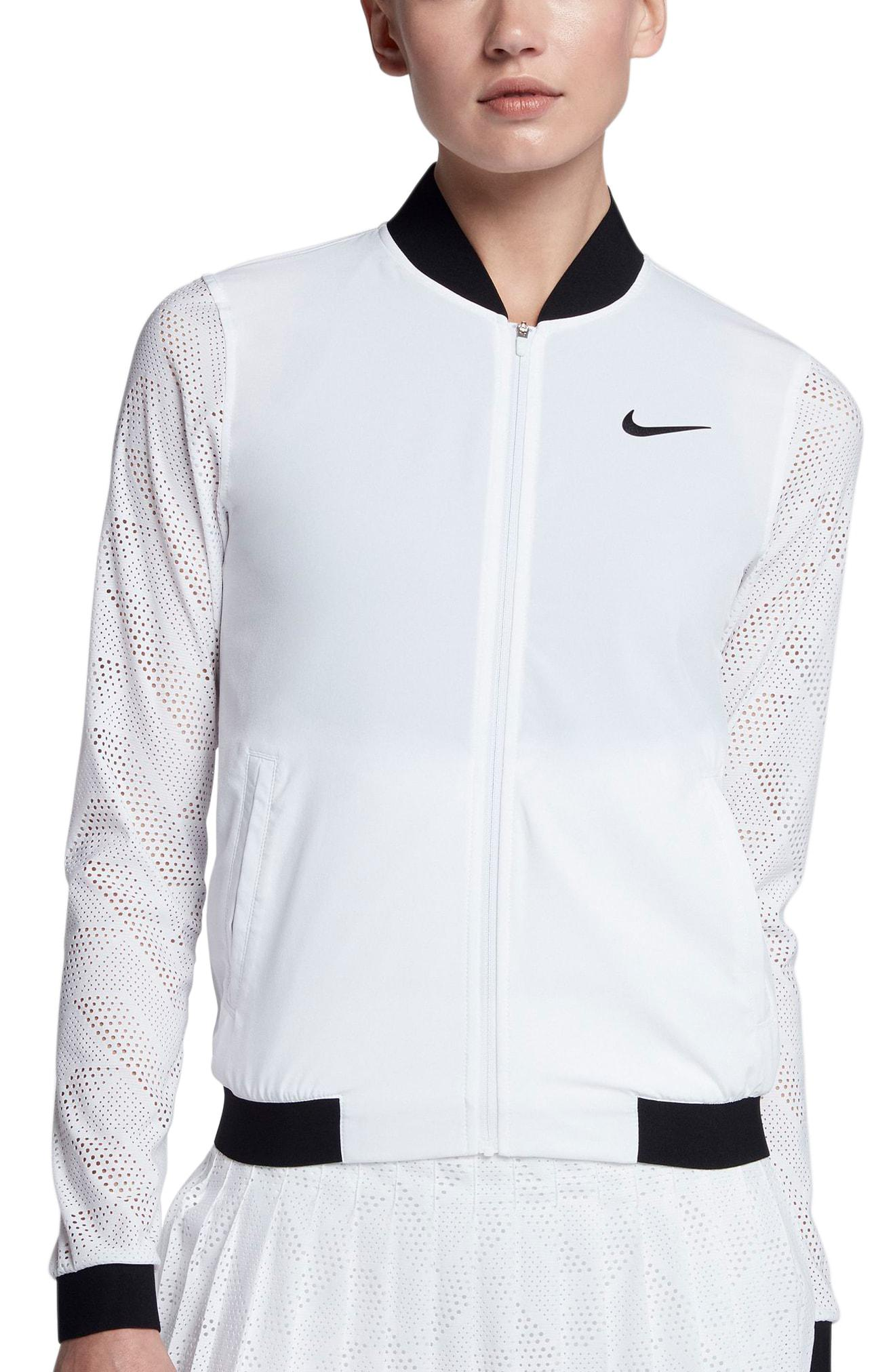 08f5cc367ab8 Lyst - Nike Court Maria Tennis Jacket in White