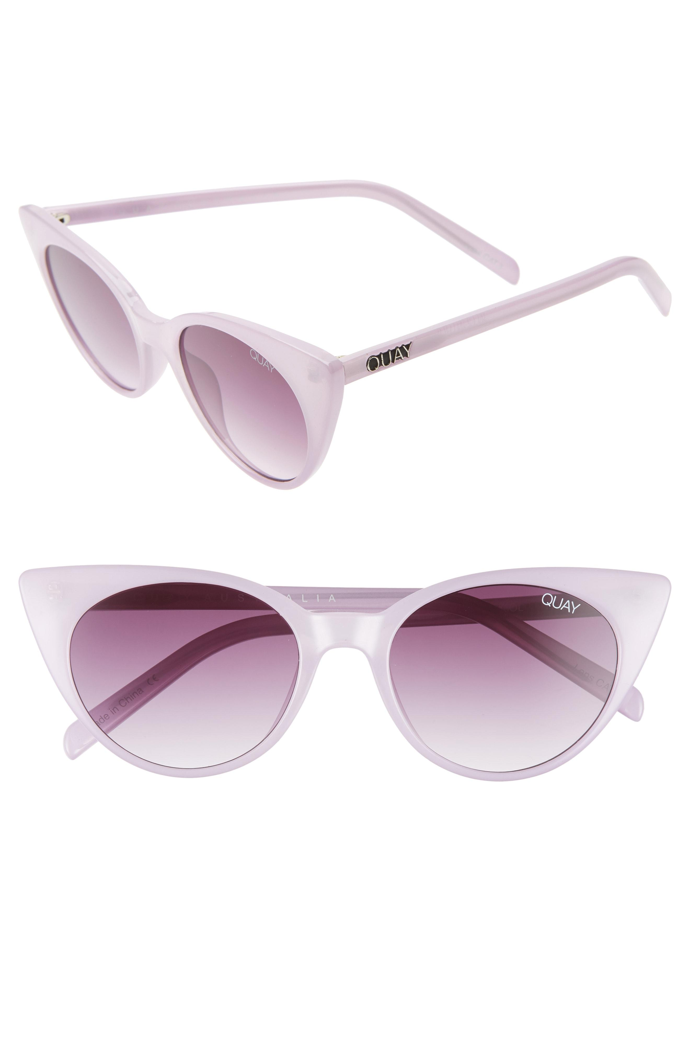 e08677fcca3a5 Quay - Multicolor Aphrodite 53mm Cat Eye Sunglasses - Violet  Purple Fade -  Lyst. View fullscreen