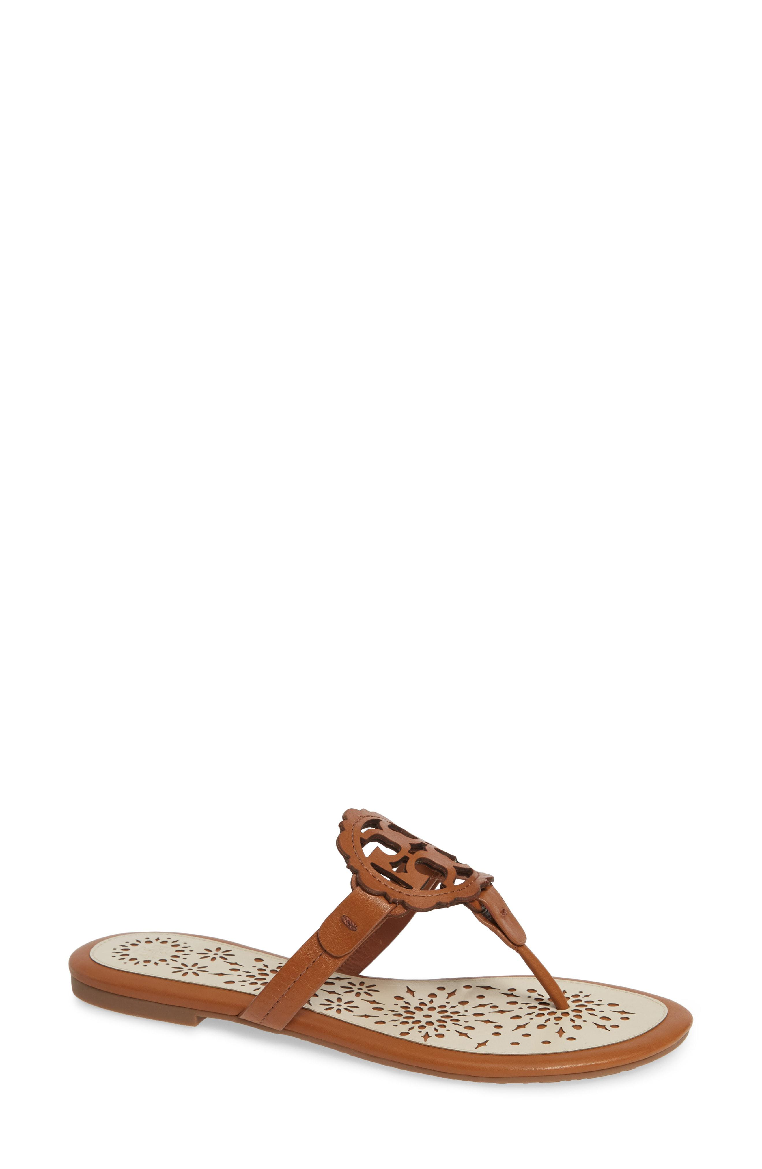 943249efb0f1 Tory Burch. Women s Miller Scalloped Medallion Sandal