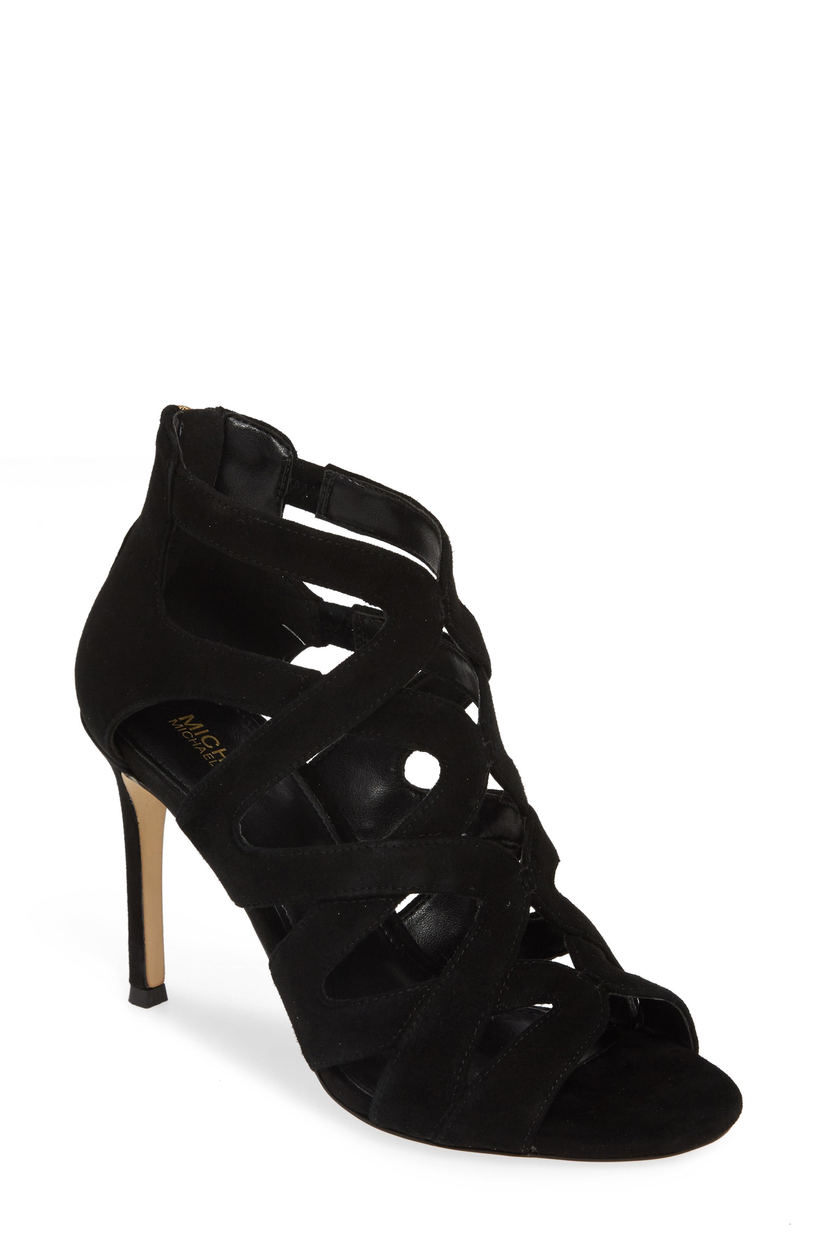 7c35df1812b Lyst - MICHAEL Michael Kors Annalee Sandal in Black