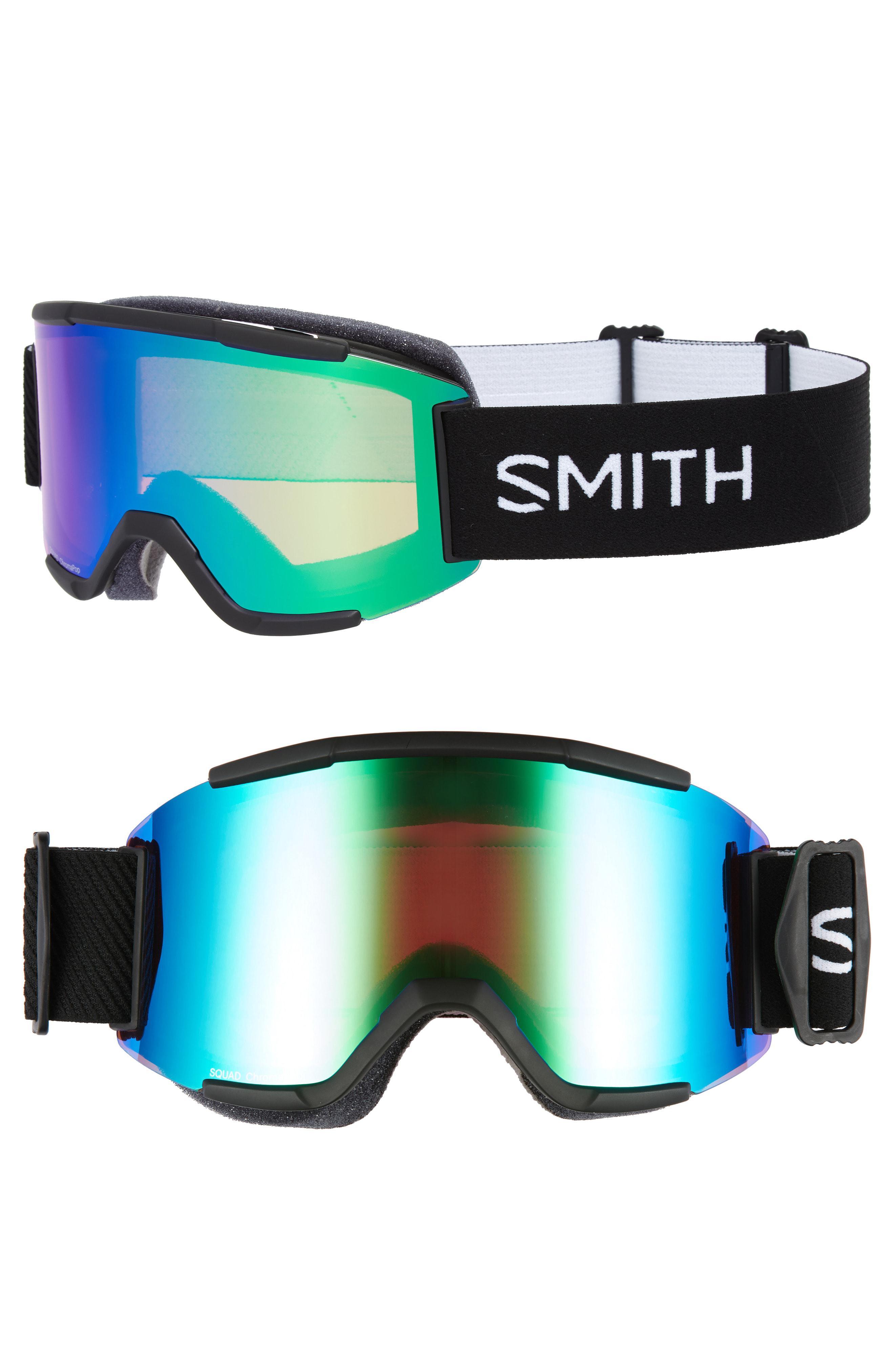 a54c0a2c0f Smith - Green Squad Chromapop 180mm Snow Goggles - - Lyst. View fullscreen