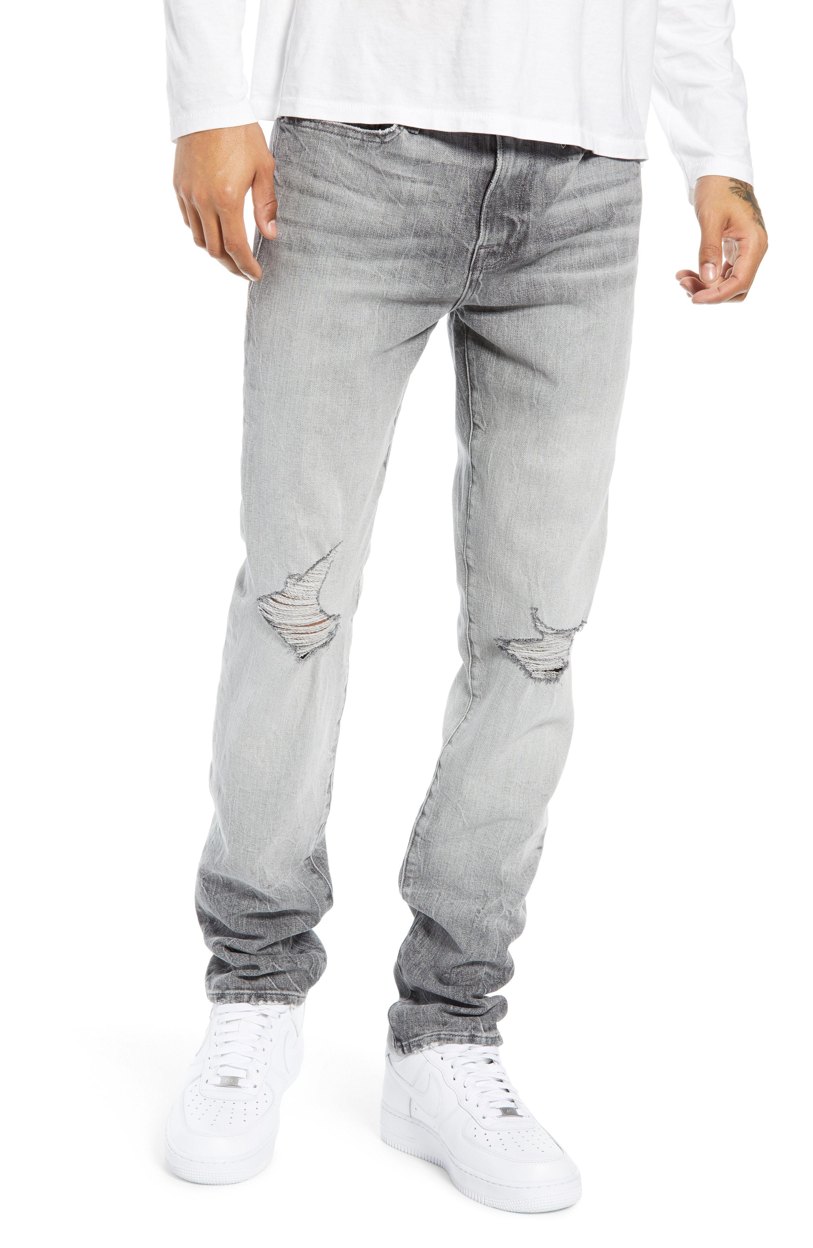 79870b8c34b Lyst - FRAME L'homme Skinny Fit Jeans in Gray for Men