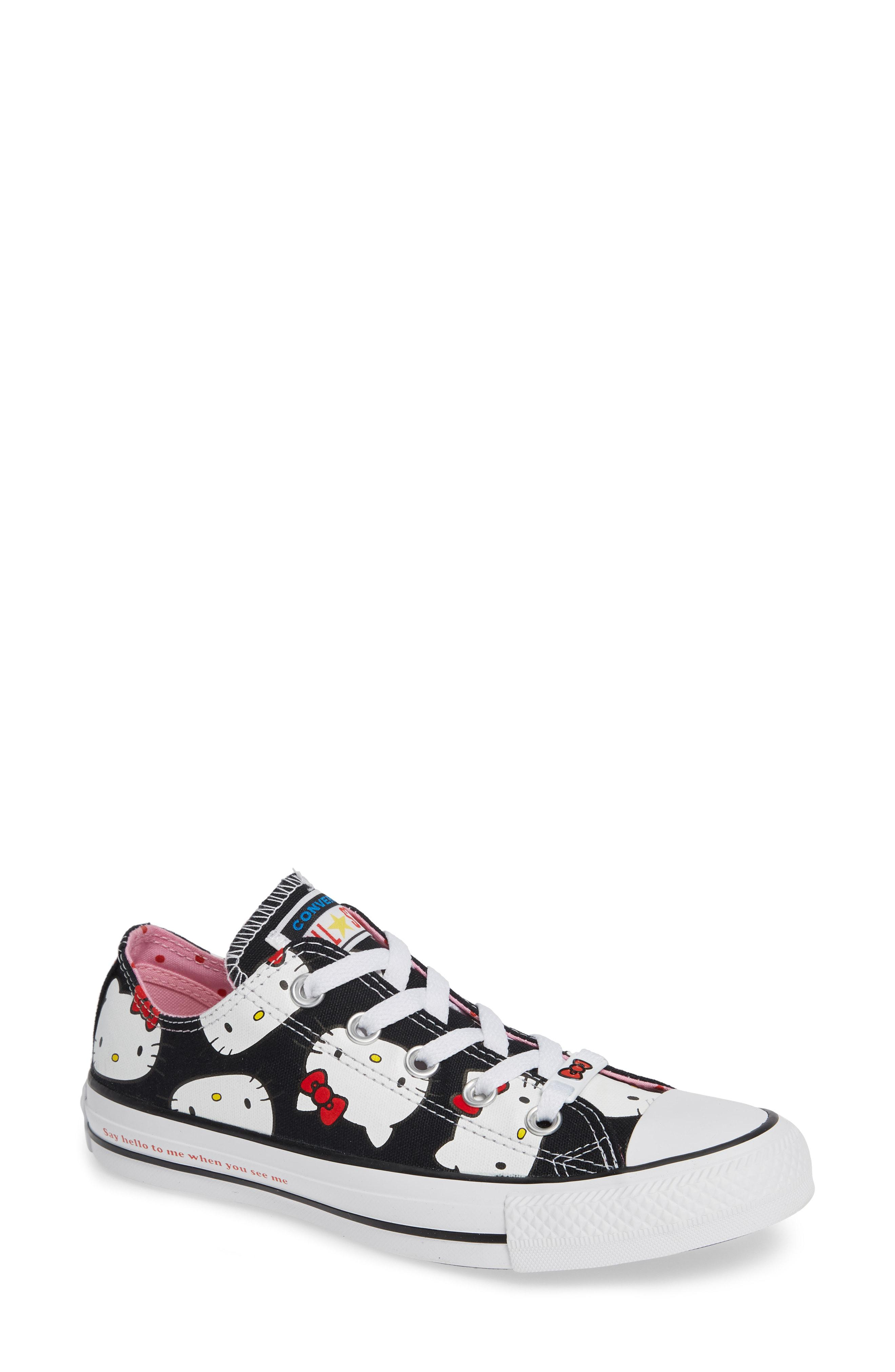 71a1acabb98f1c Lyst - Converse Chuck Taylor All Star Hello Kitty Sneaker - Save ...