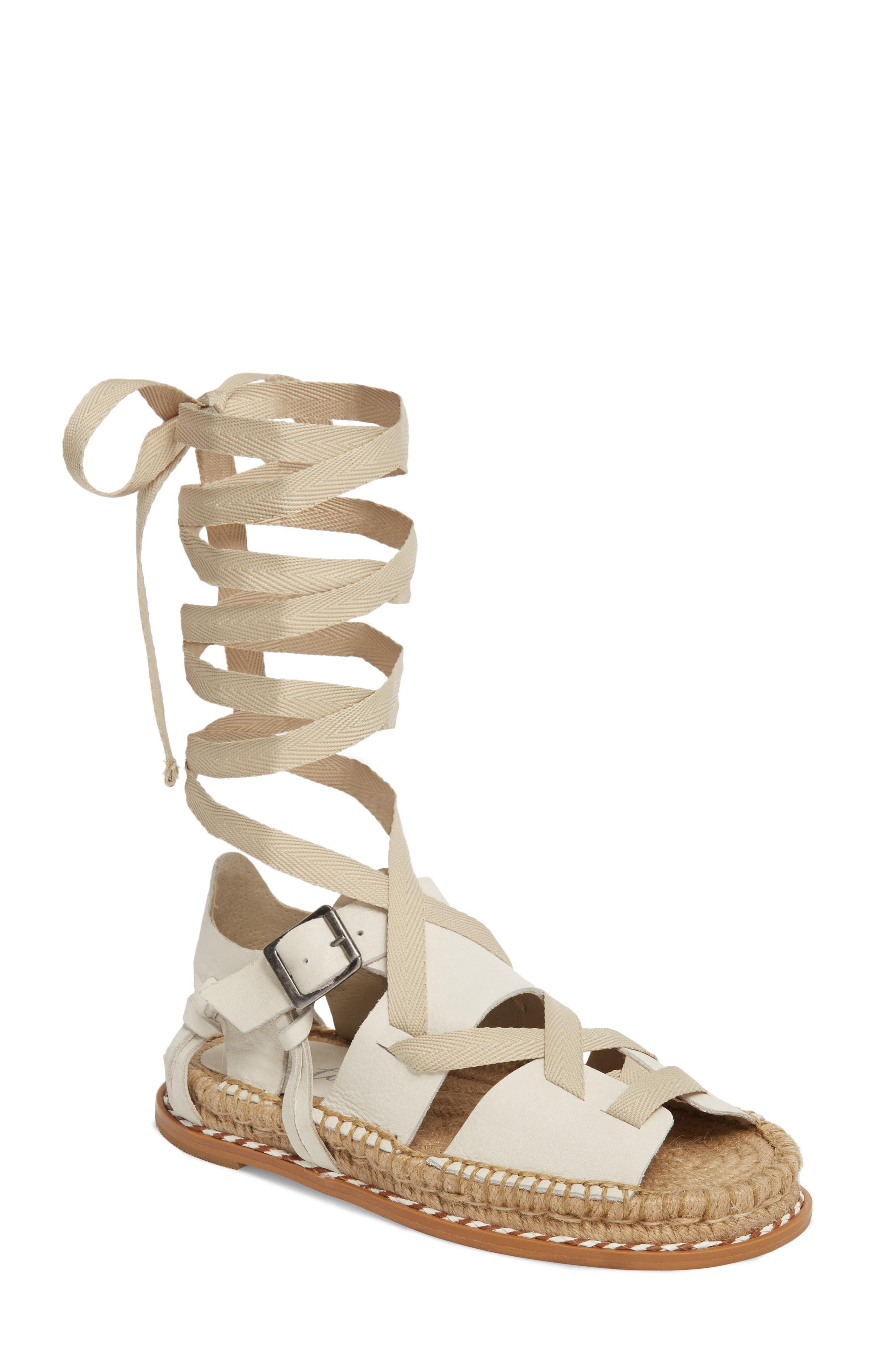 7fb1537a5802 Lyst matisse tabby gladiator sandal in white jpg 2640x4048 Matisse  gladiator sandals