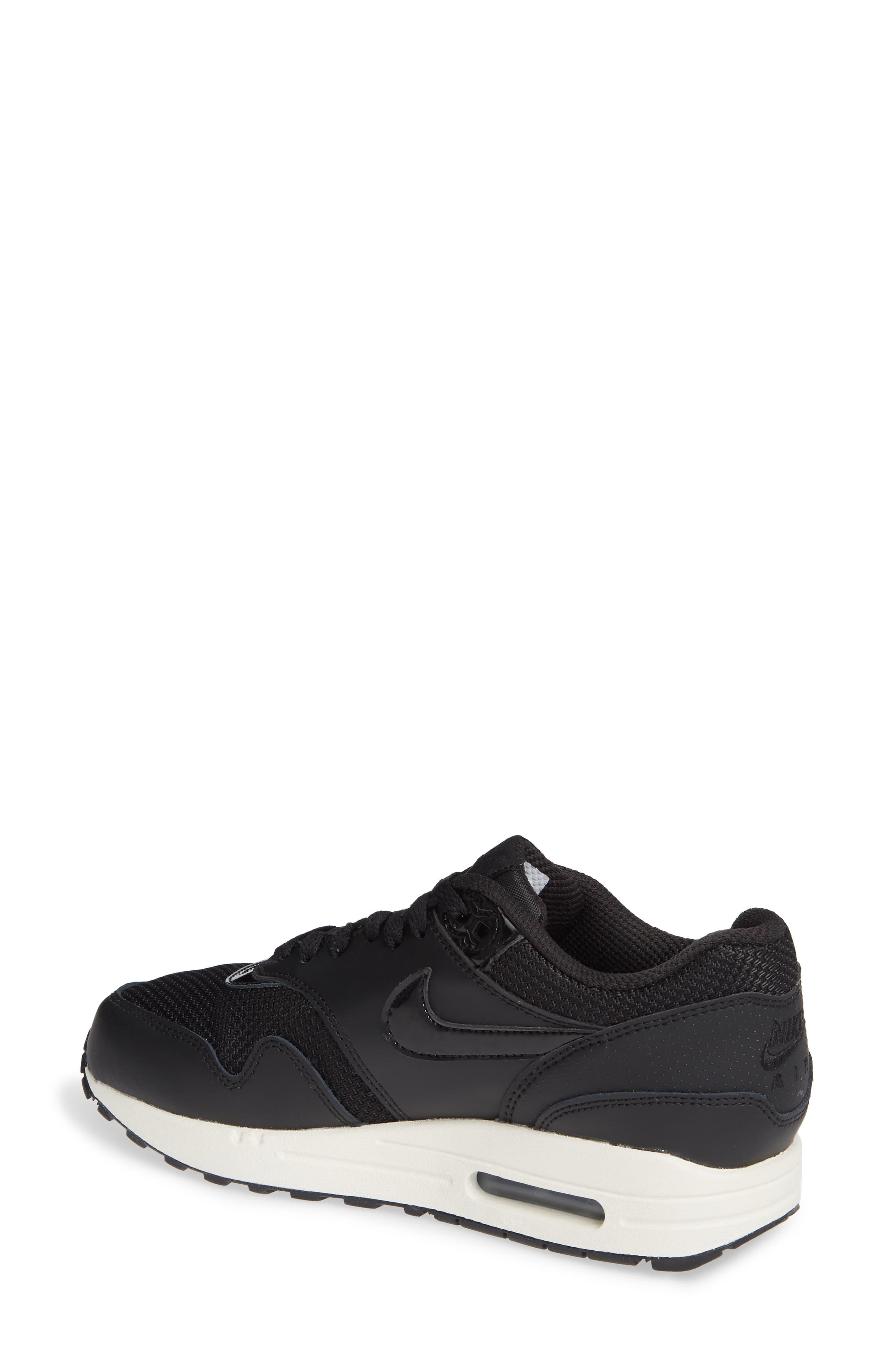 on sale 04bd3 984e0 Nike. Women s Black Air Max 1 Nd Sneaker